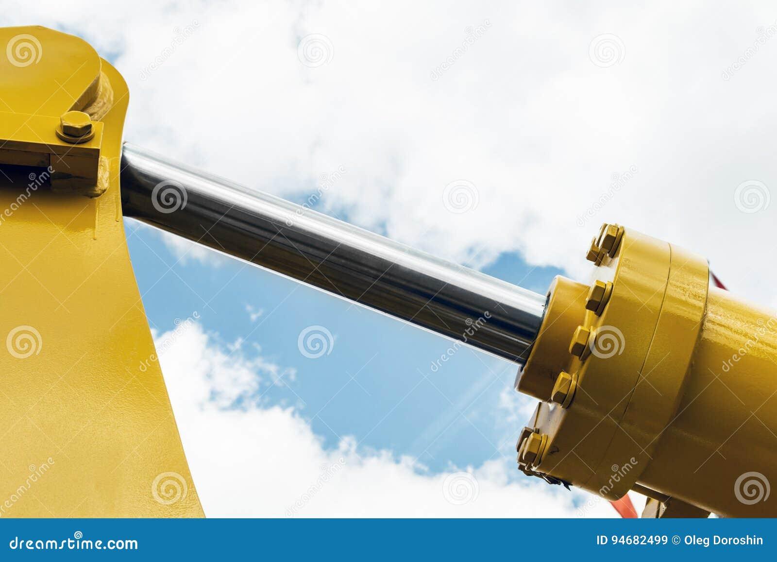 Τρακτέρ υδραυλικής κίτρινο