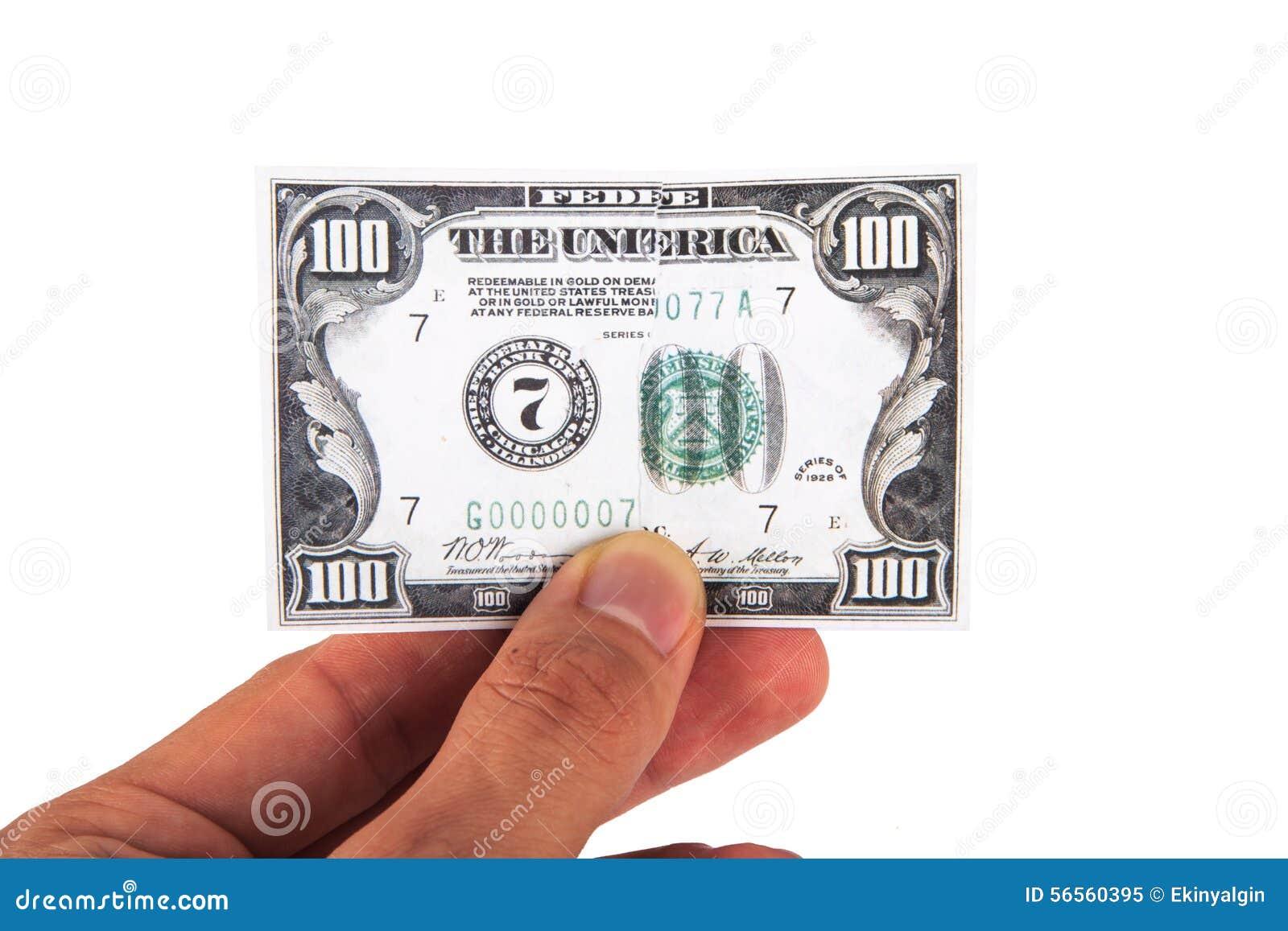 Download Τραπεζογραμμάτιο δολαρίων σε διαθεσιμότητα Στοκ Εικόνα - εικόνα από δολάριο, έννοια: 56560395