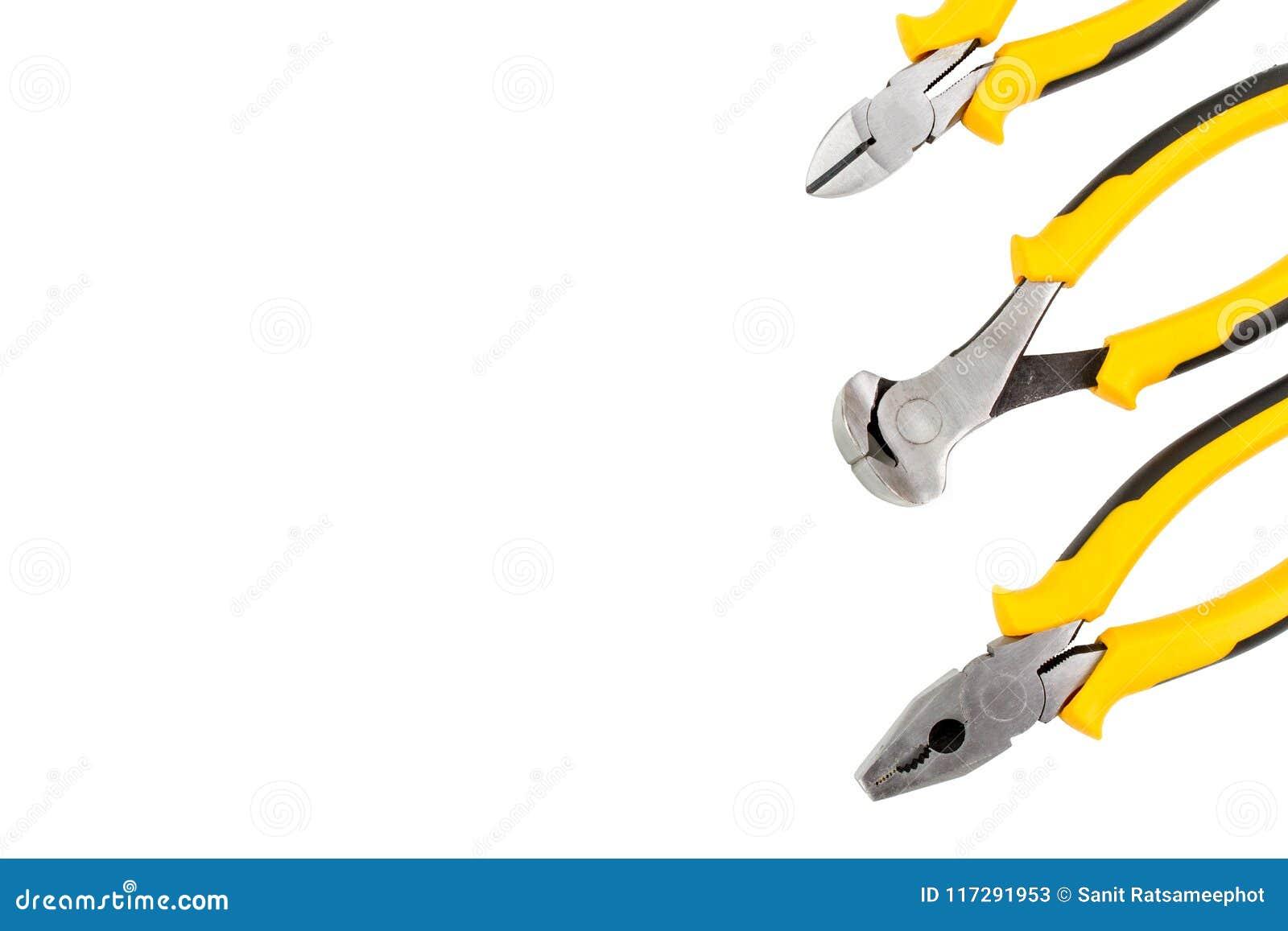 Τρεις πένσες είναι Nipper, συνδυασμός και διαγώνιες πένσες