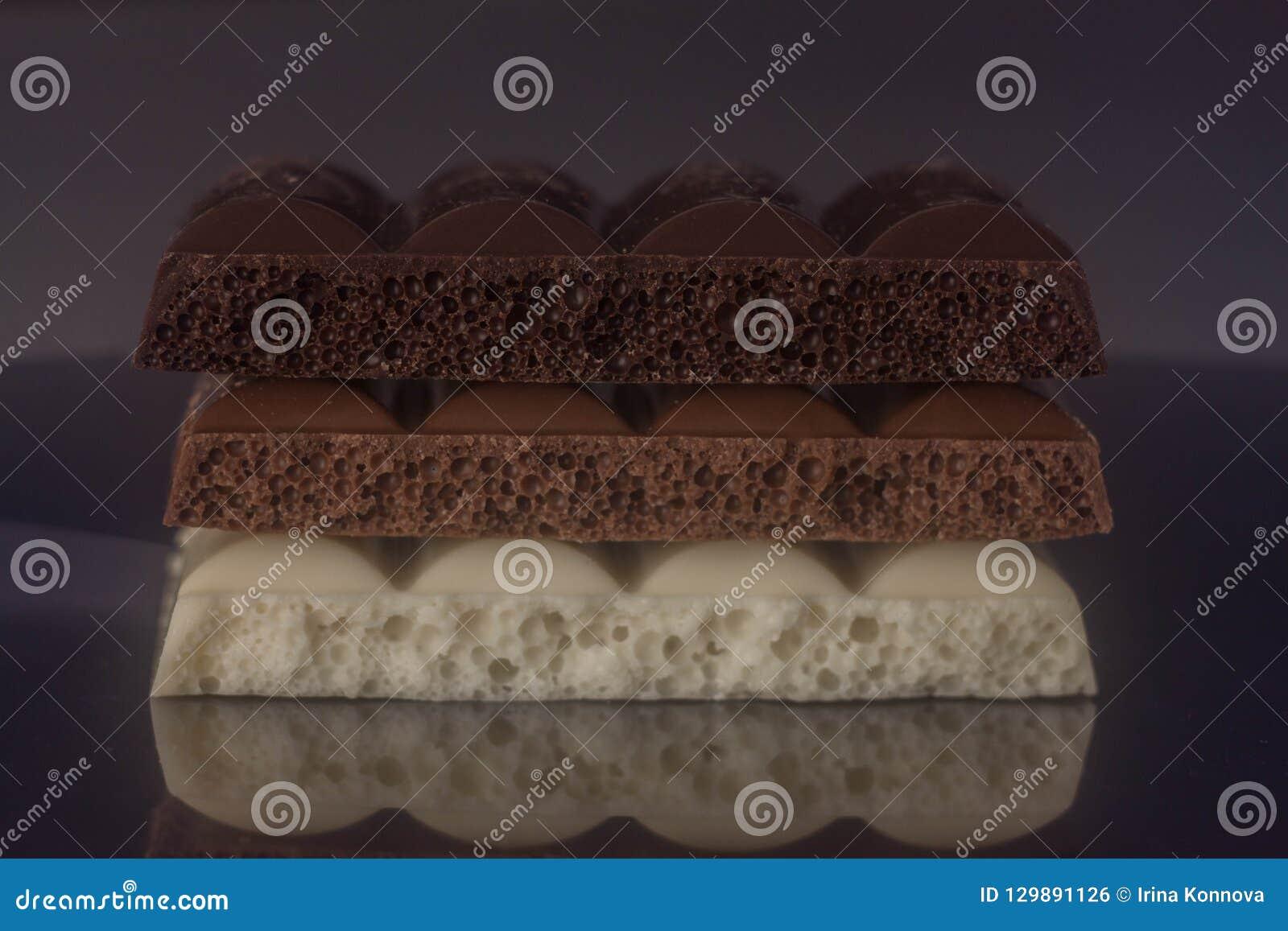 Τρεις τύποι σοκολατών