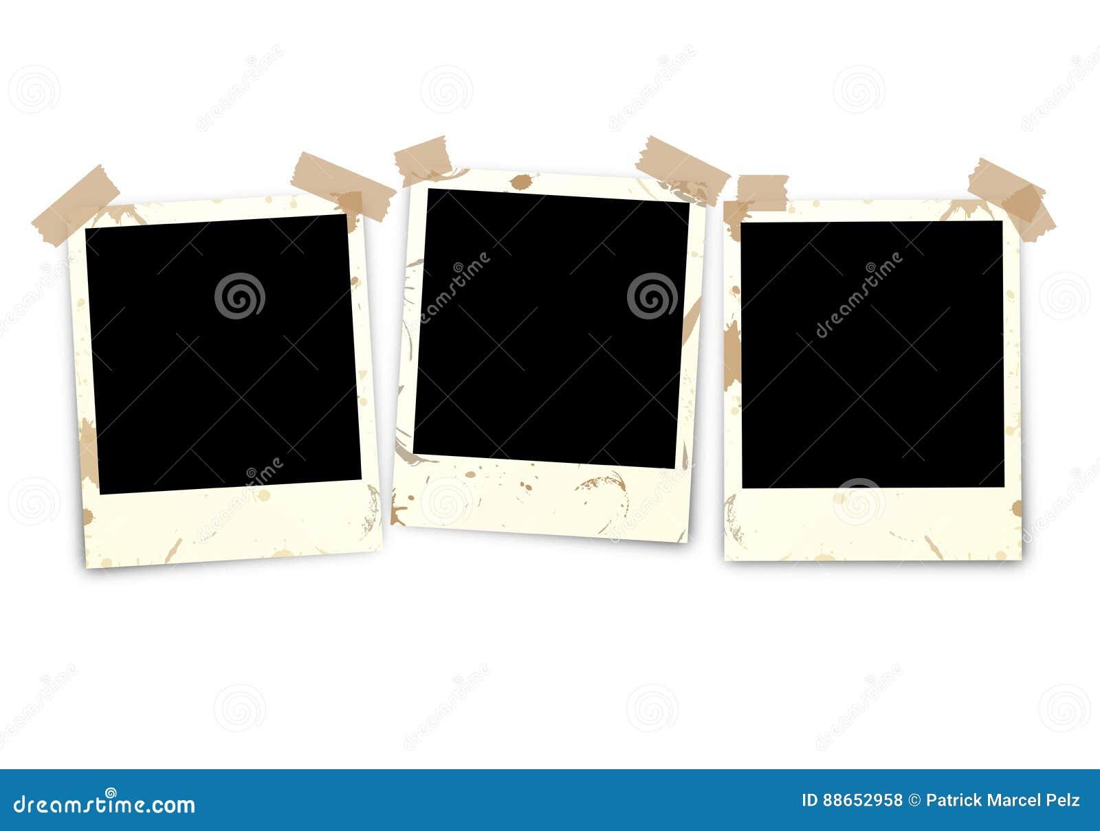 Τρεις φωτογραφίες βρώμικες με την ταινία