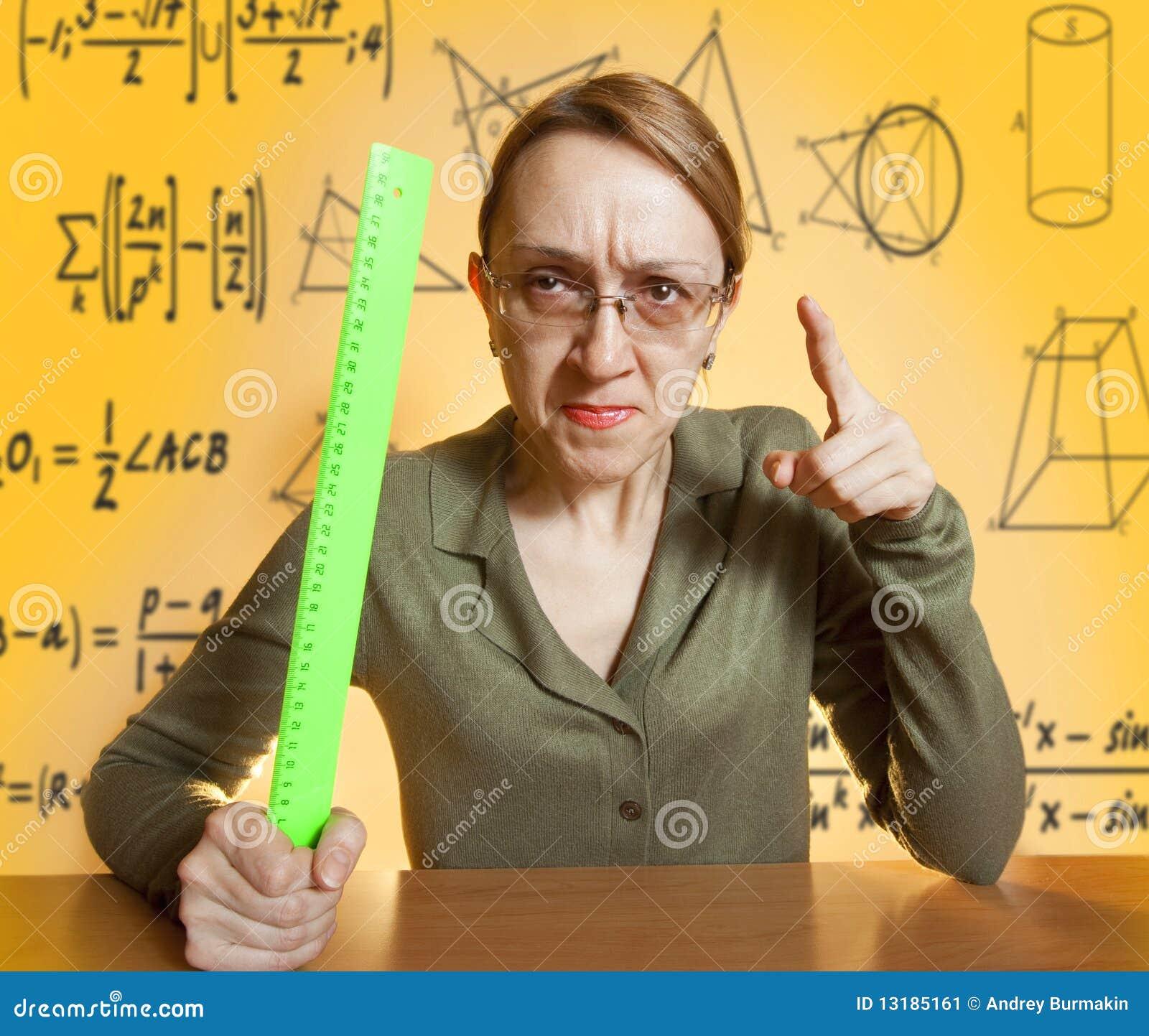 τρελλός θηλυκός δάσκαλ&o