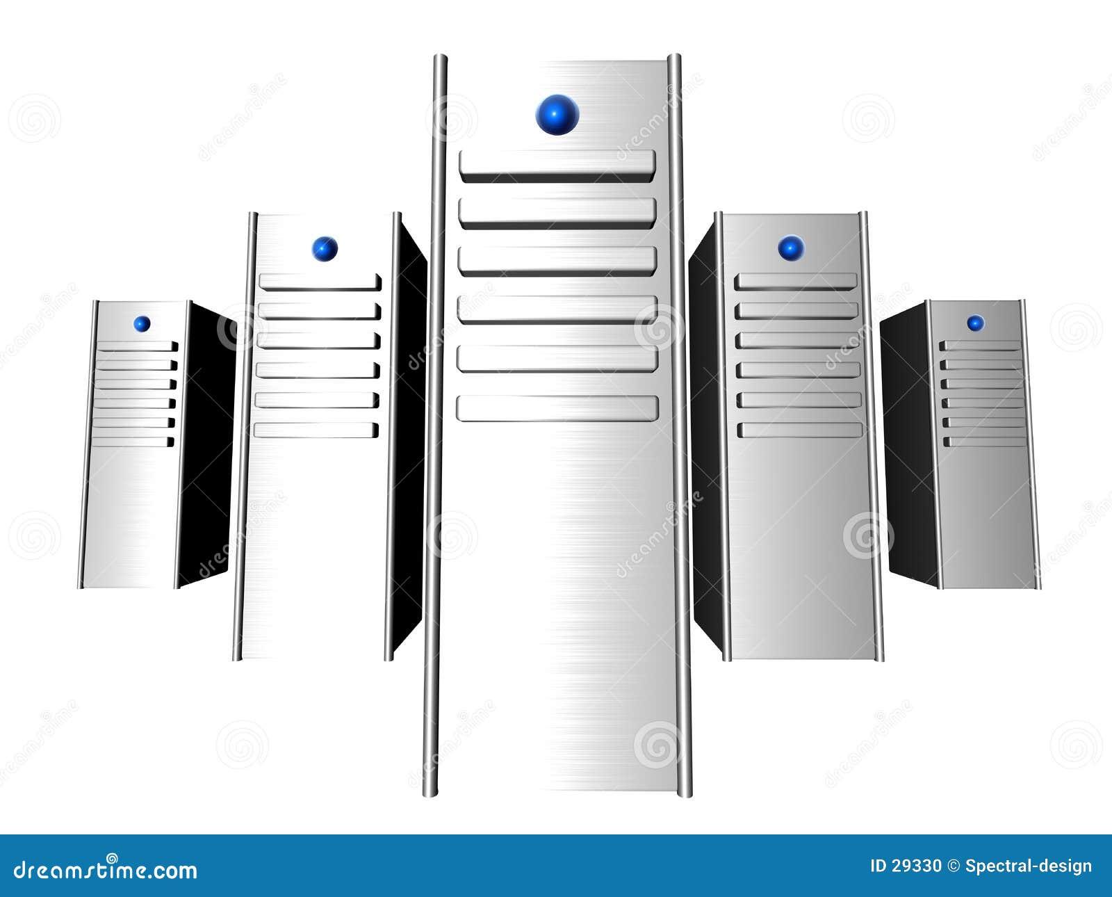 τρισδιάστατοι κεντρικοί υπολογιστές