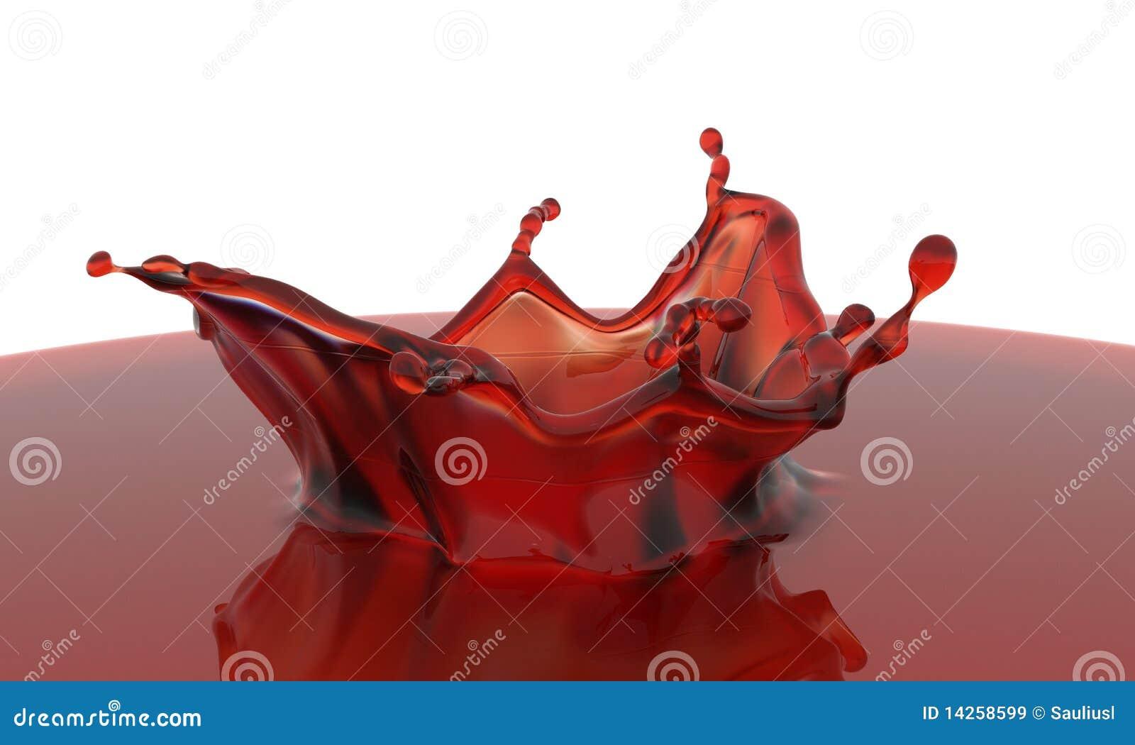 τρισδιάστατος κόκκινος &