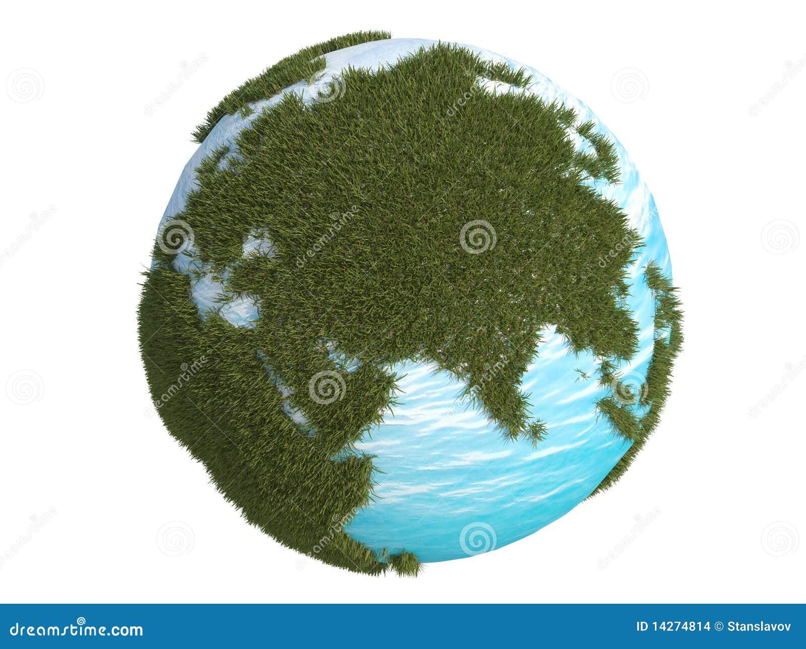 τρισδιάστατος πράσινος β