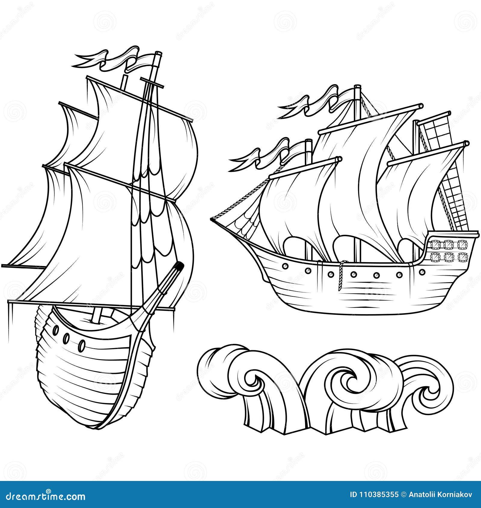 τρισδιάστατο ηλιοβασίλεμα σκαφών ναυσιπλοΐας τοπίων αναδρομικό σκάφος φορτίο τρισδιάστατο ηλιοβασίλεμα σκαφών ναυσιπλοΐας τοπίων