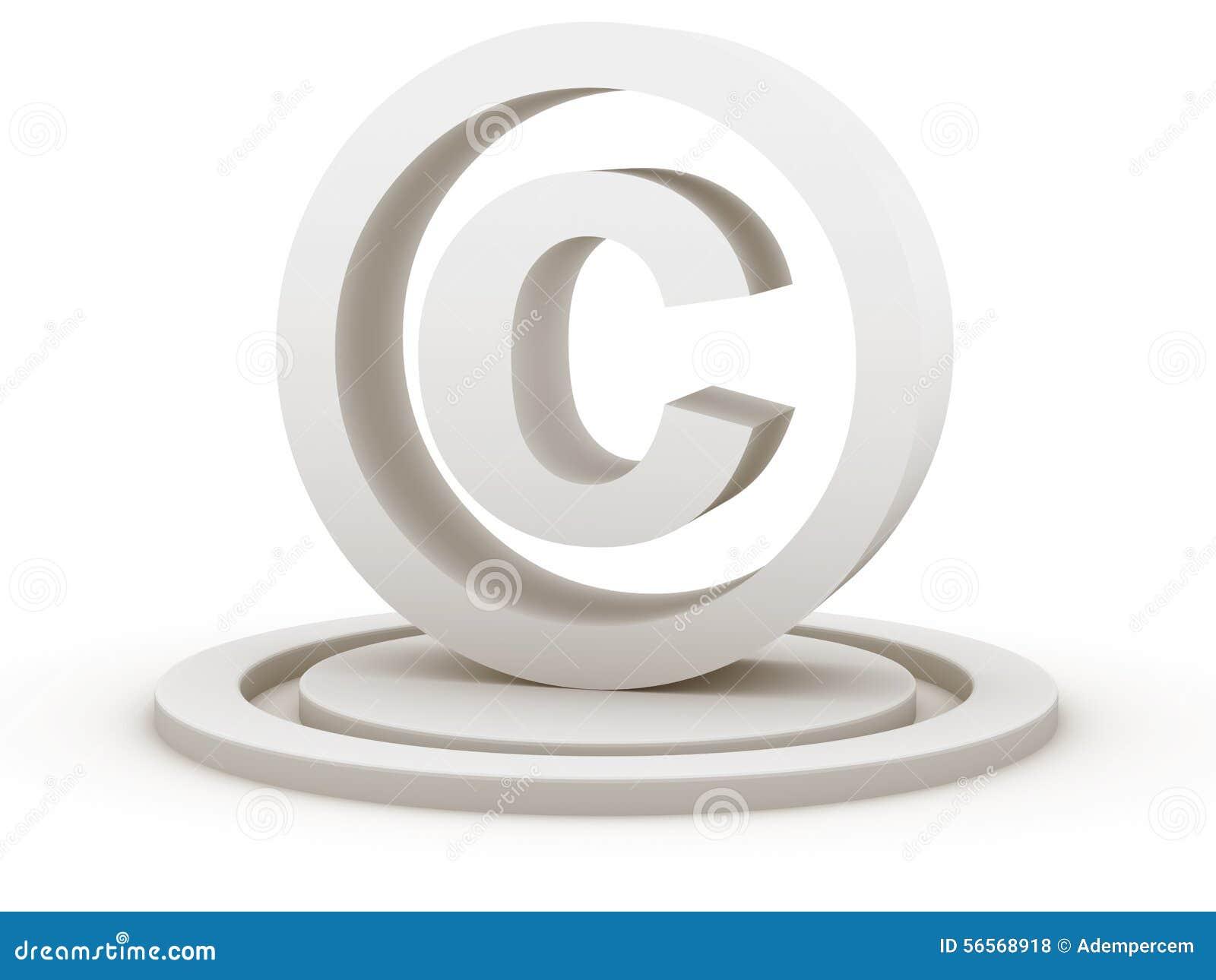 Download τρισδιάστατη απεικόνιση πνευματικών δικαιωμάτων που δίνεται το σύμβολο Απεικόνιση αποθεμάτων - εικονογραφία από κλάδων, trademark: 56568918