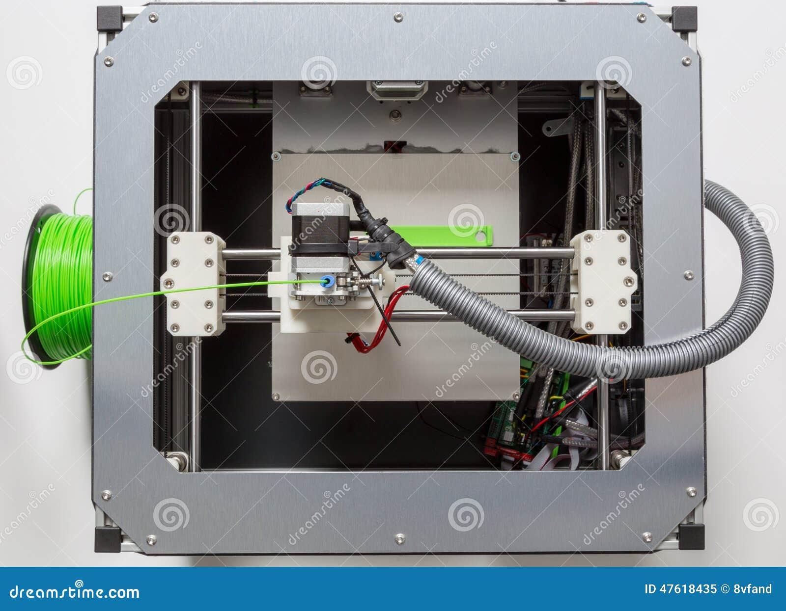 τρισδιάστατη εκτύπωση με την ανοικτό πράσινο ίνα