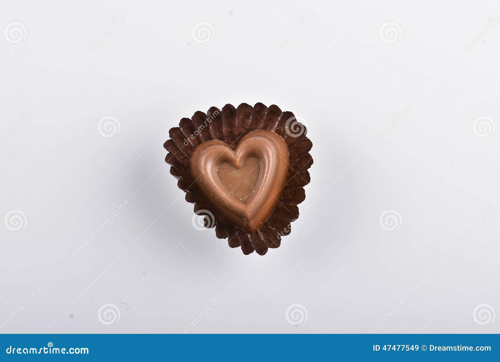 τρισδιάστατη σοκολάτας απεικόνιση καρδιών σχεδίου γραφική που δίνεται