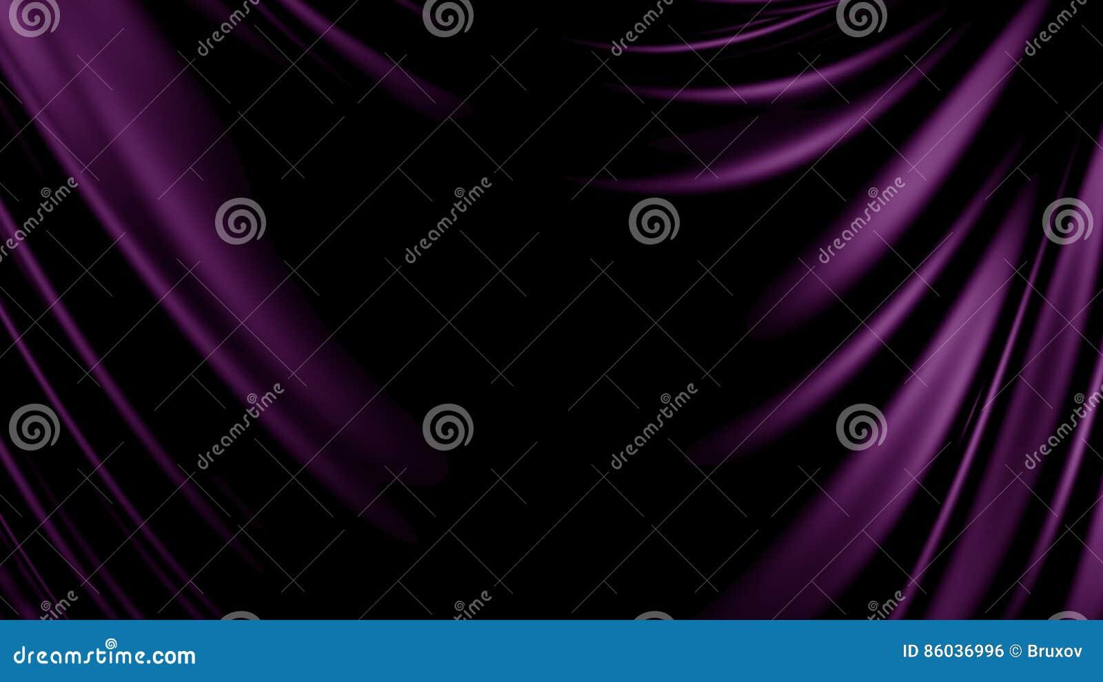 τρισδιάστατο ύφασμα υποβάθρου απεικόνισης αφηρημένο πορφυρό