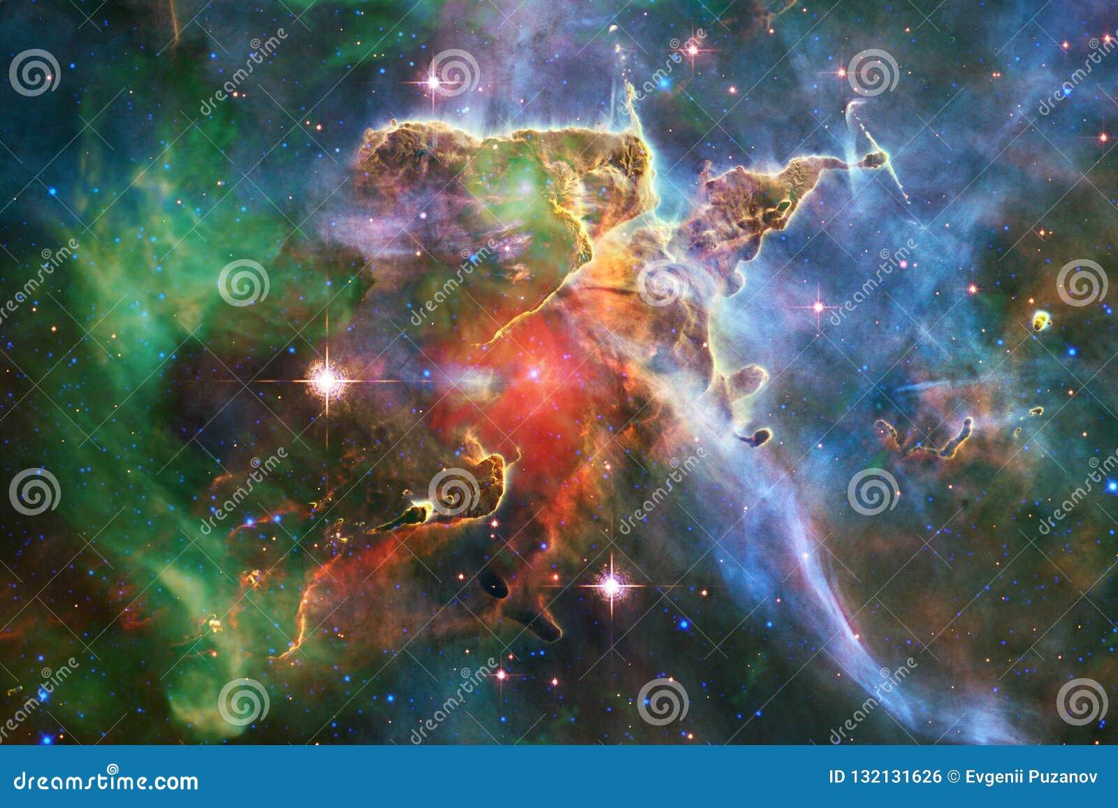 Τρομερός του βαθιού διαστήματος Δισεκατομμύρια των γαλαξιών στον κόσμο