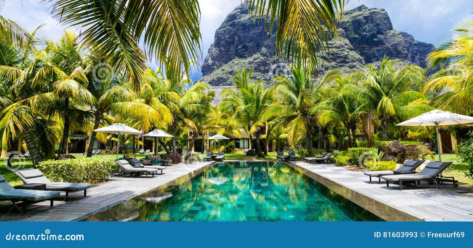 Τροπικές διακοπές πολυτέλειας Πισίνα SPA, νησί του Μαυρίκιου