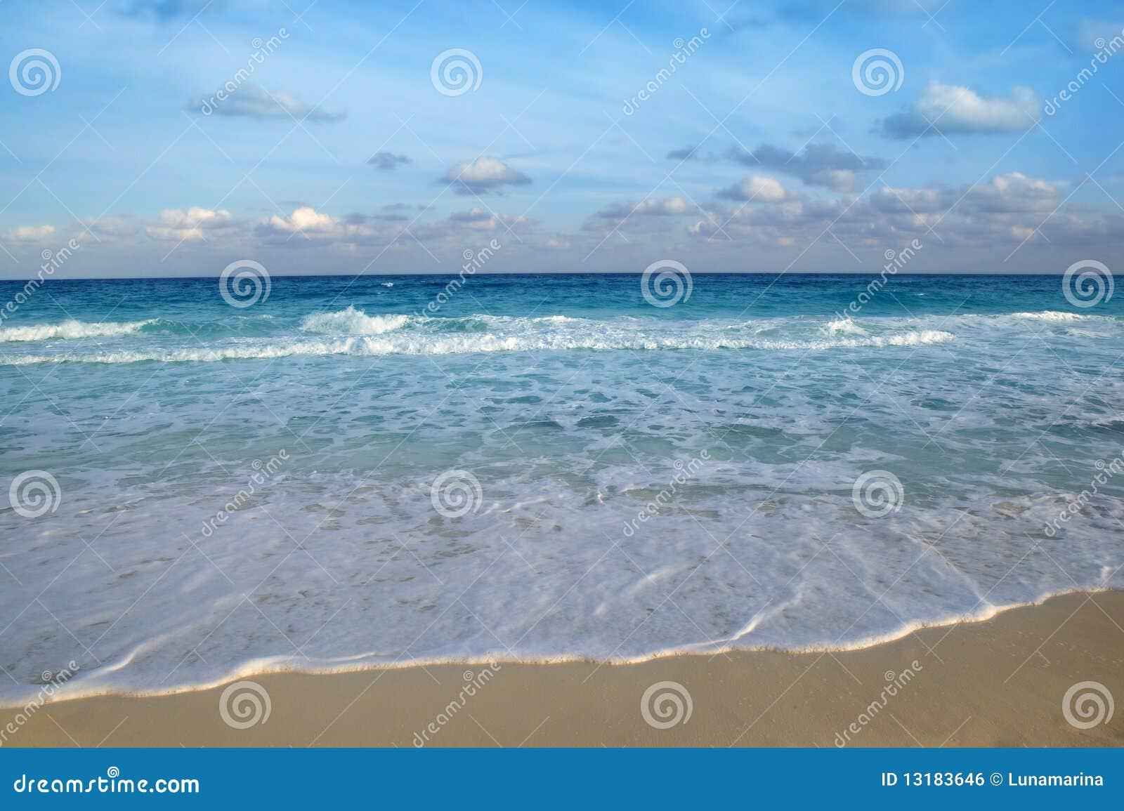 τροπικό τυρκουάζ θάλασσ&al