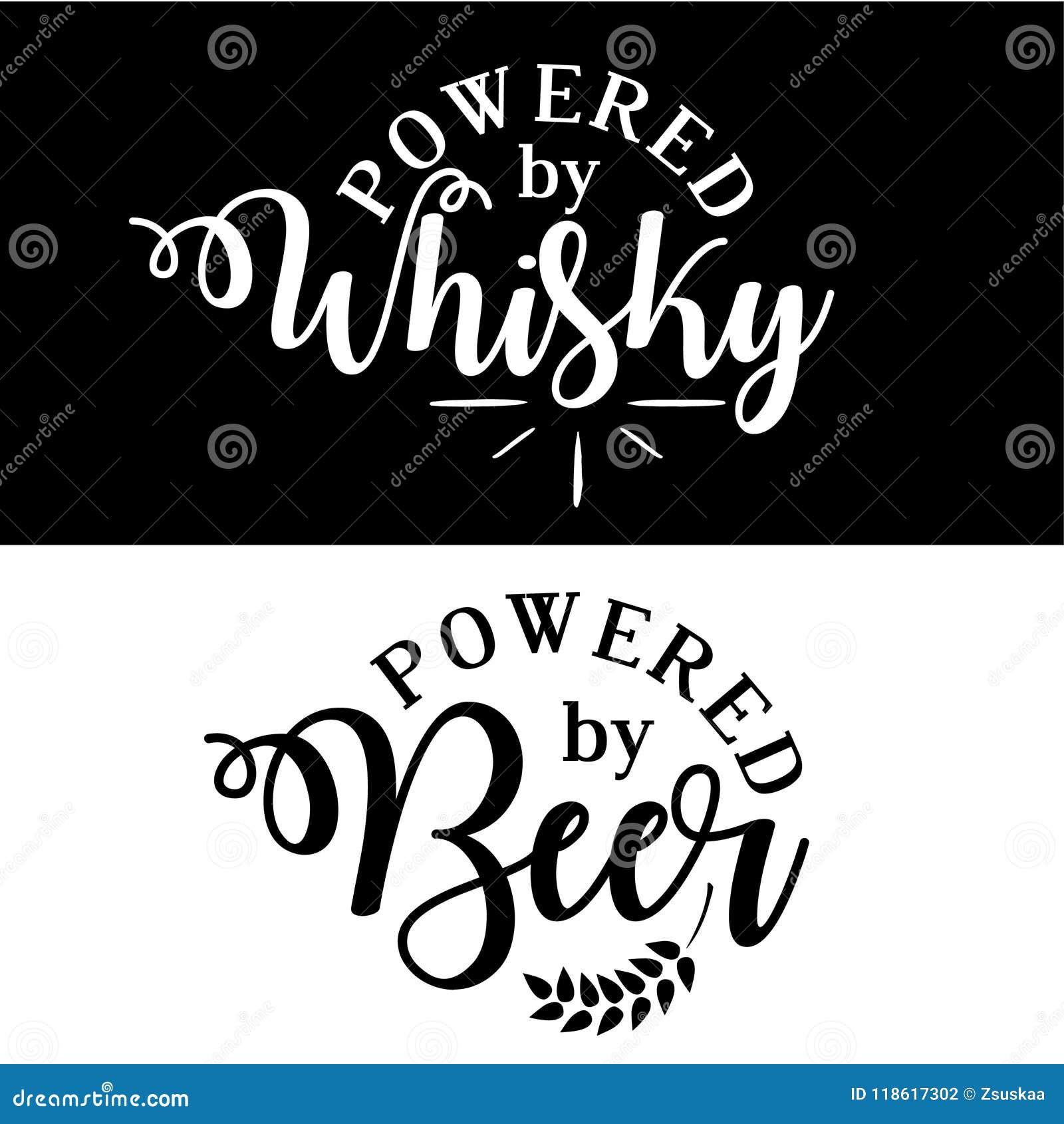 Τροφοδοτημένος από το ουίσκυ/την μπύρα