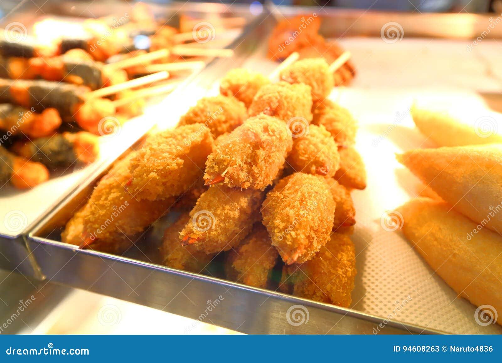 τρόφιμα που τηγανίζονται