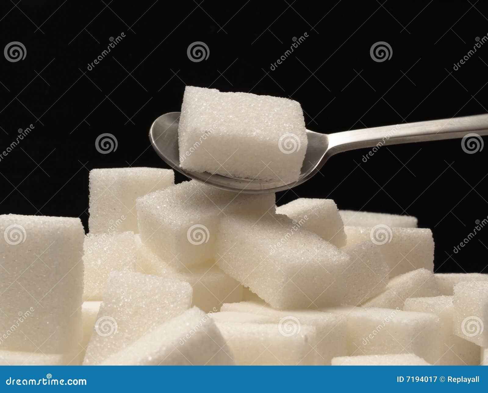 τσάι ζάχαρης κουταλιών κύβ&