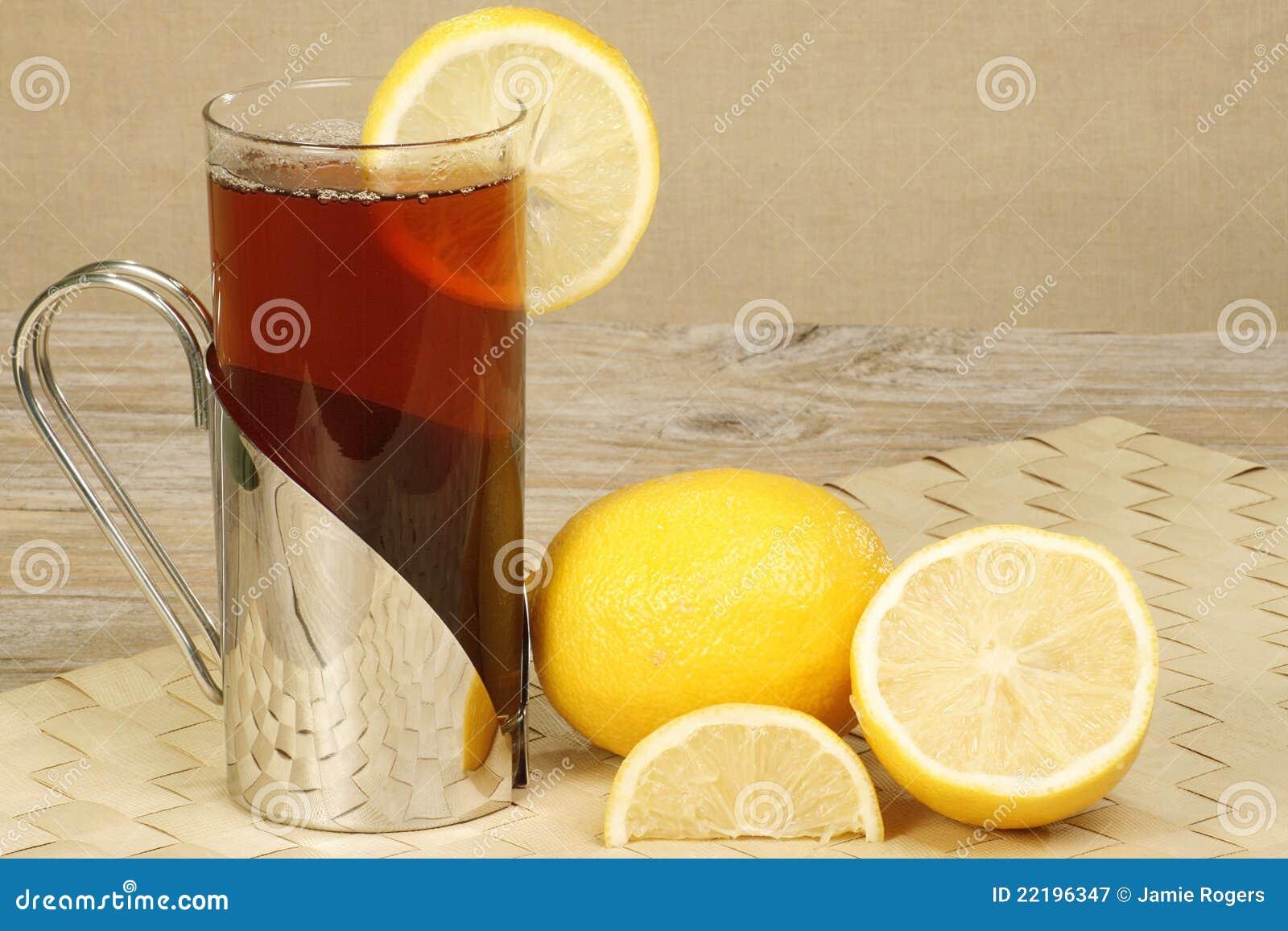 τσάι λεμονιών