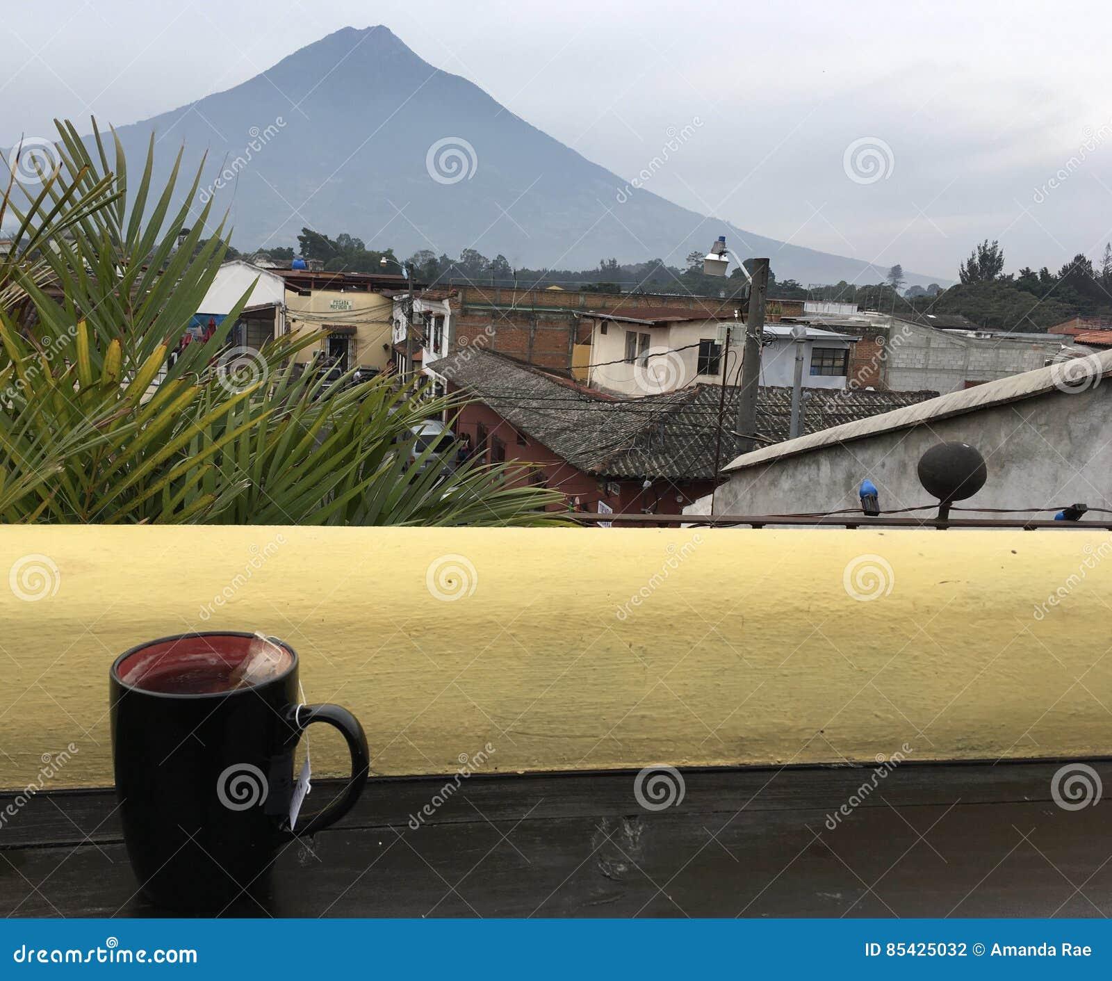 Τσάι με Acatenango