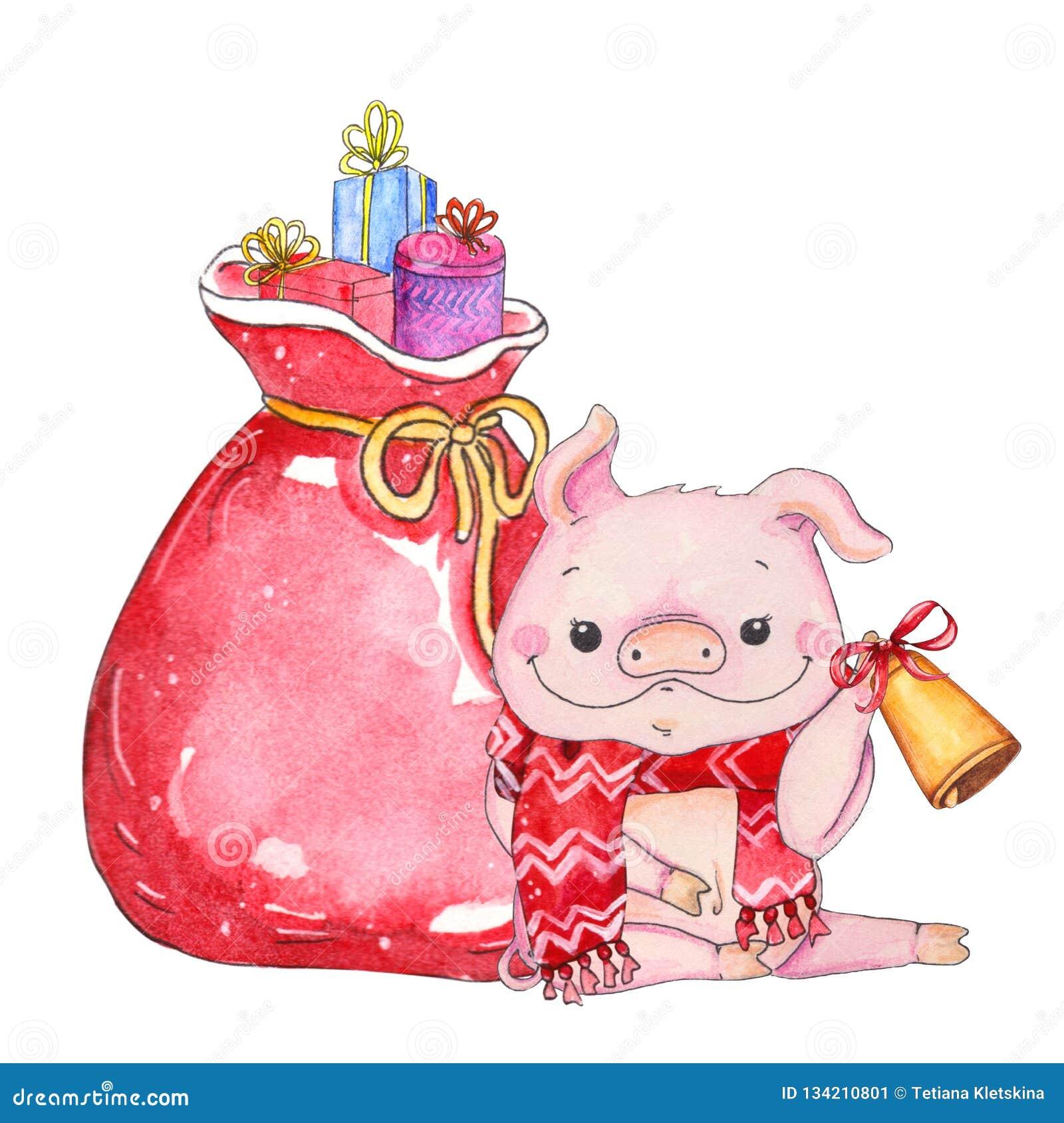 Τσάντα των παιχνιδιών με τα στοιχεία Χριστουγέννων