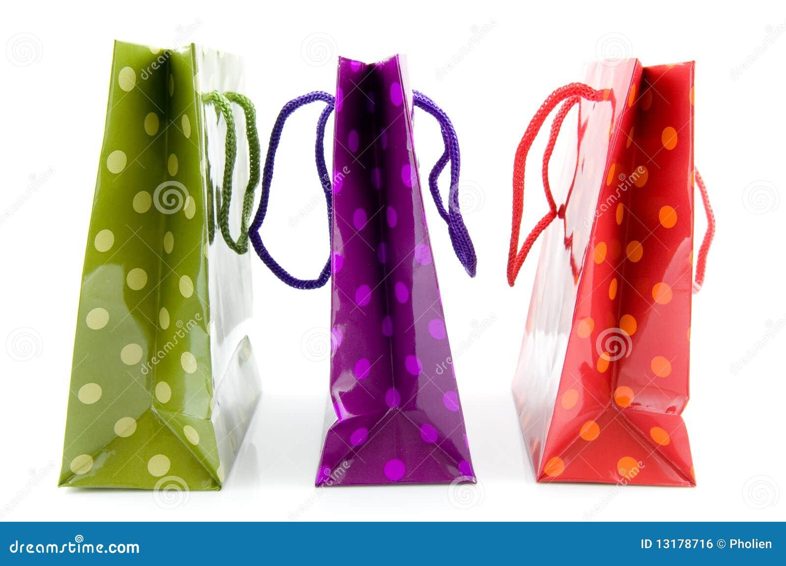 τσάντες ζωηρόχρωμα ψωνίζον&