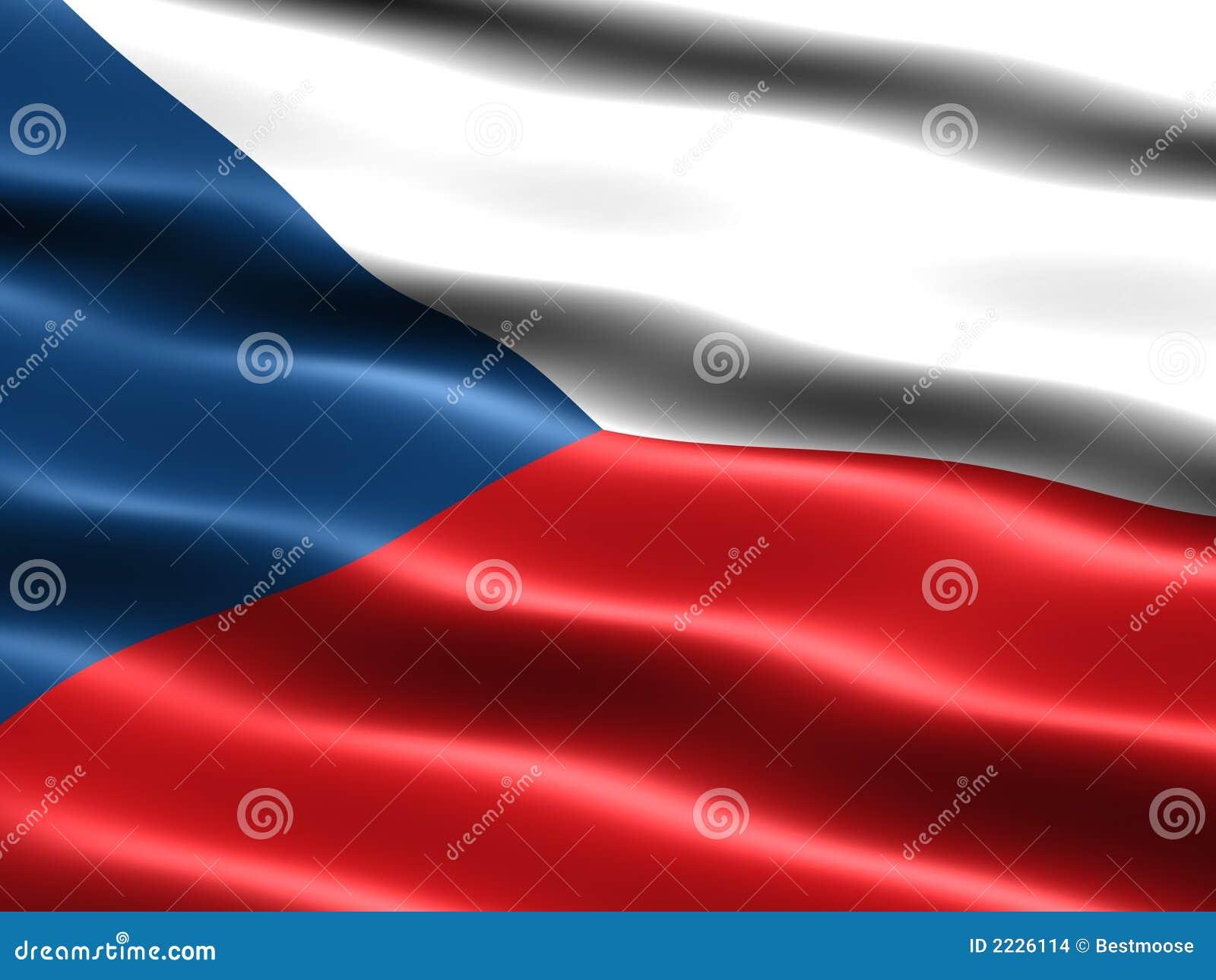 τσεχική δημοκρατία σημαιώ&