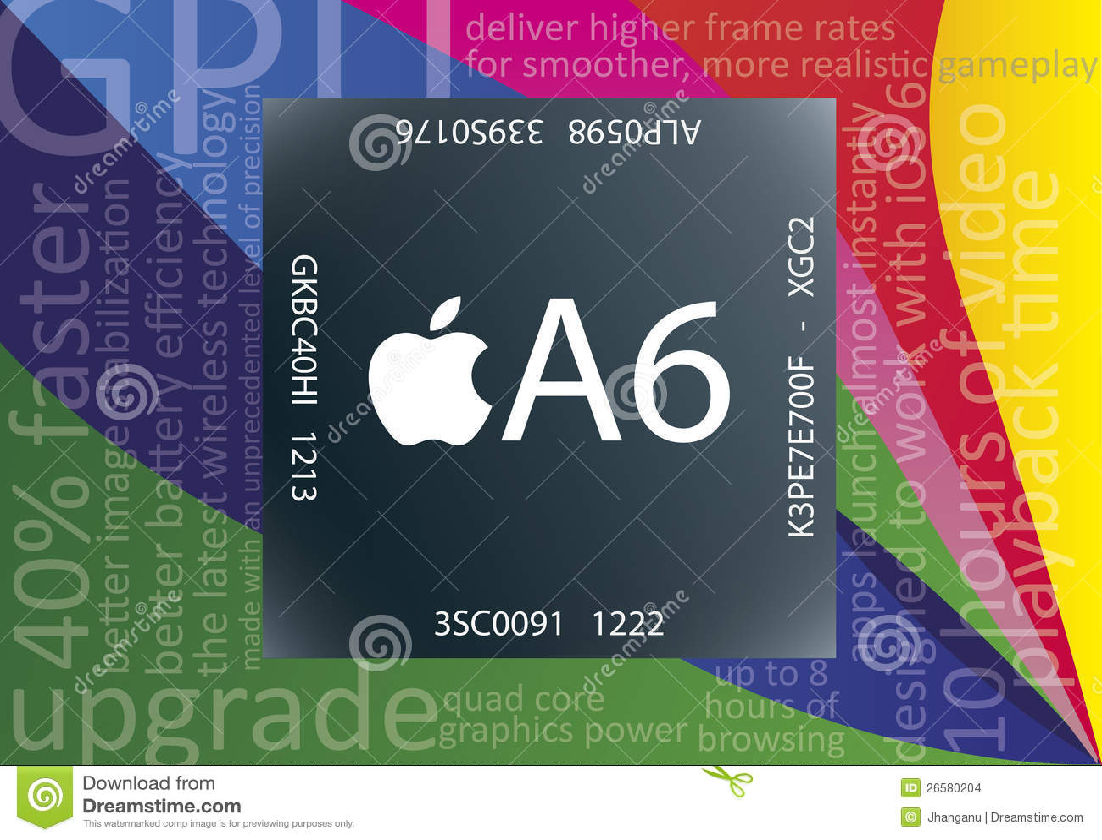 Τσιπ μήλων A6