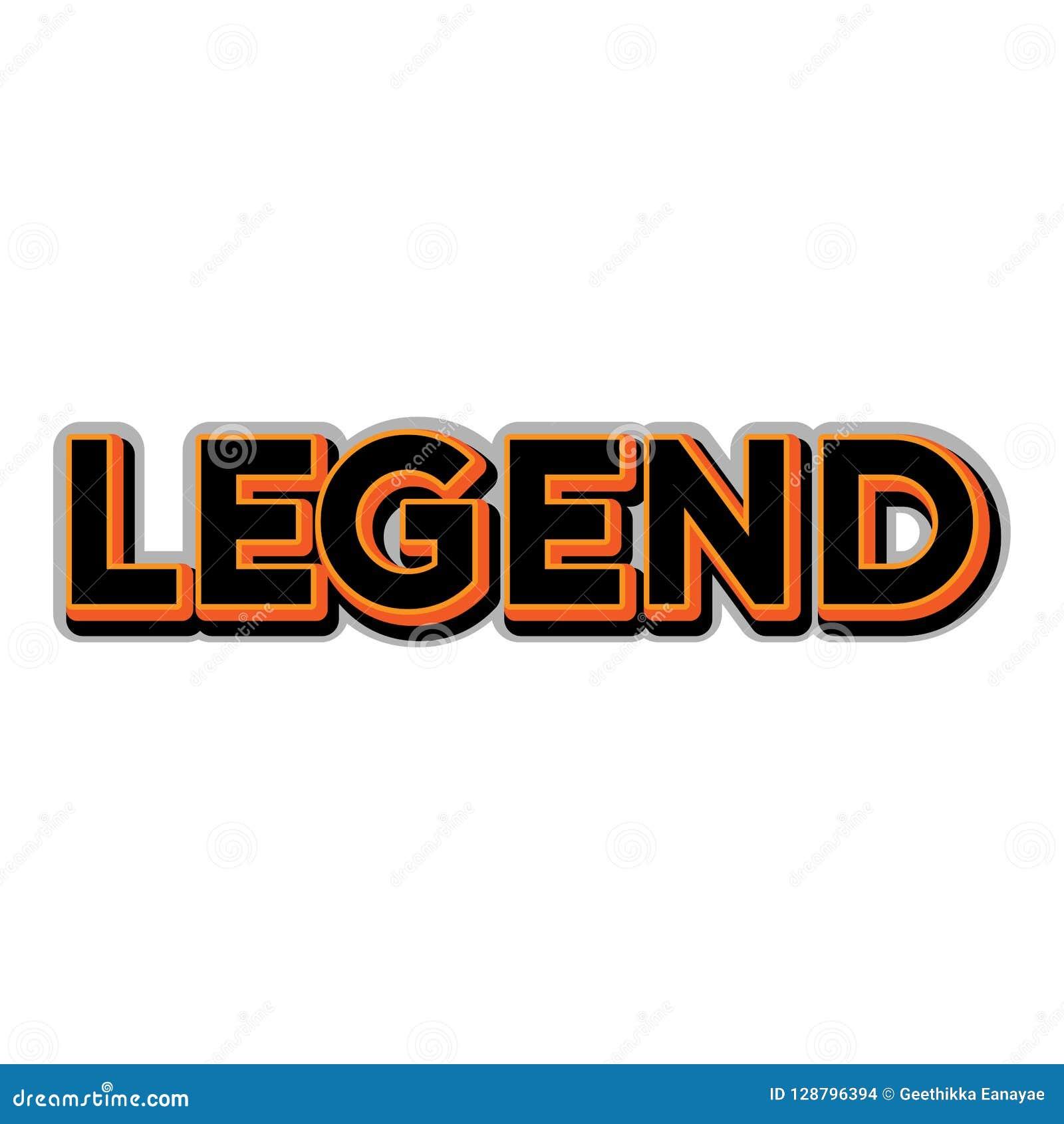Τυπογραφία μύθου στην πορτοκαλιά εγγραφή