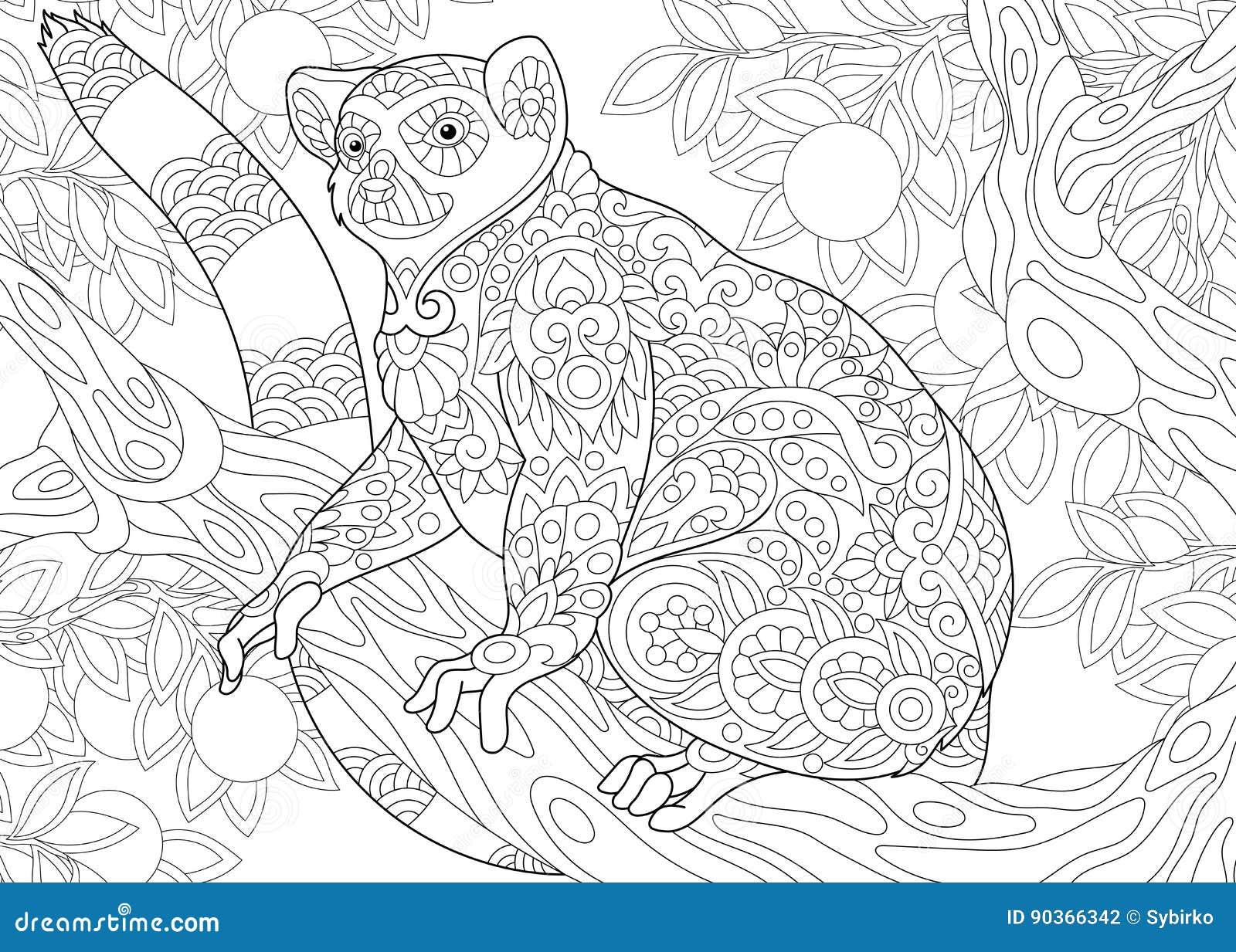 Τυποποιημένος κερκοπίθηκος Zentangle