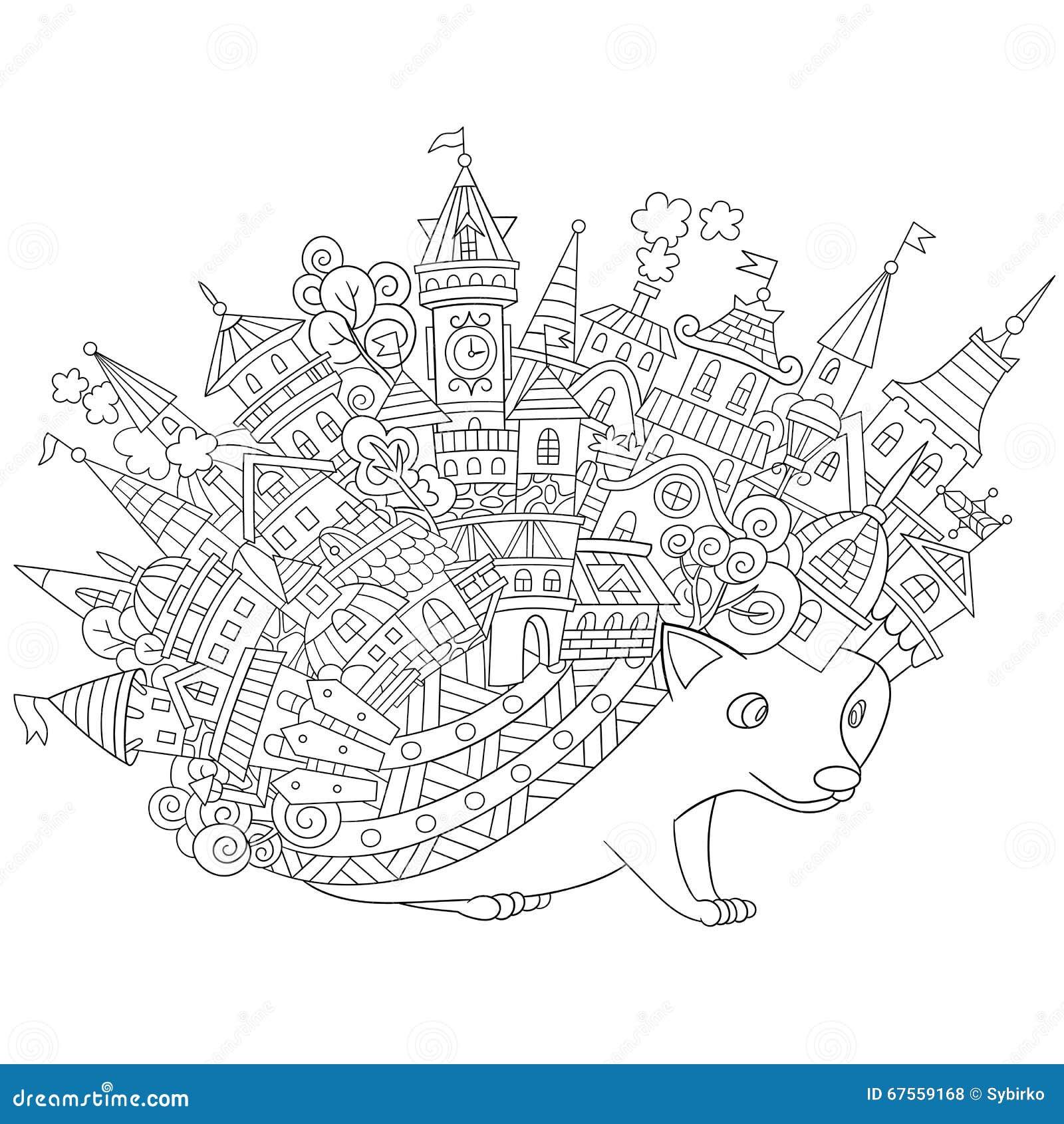 Τυποποιημένος σκαντζόχοιρος Zentangle