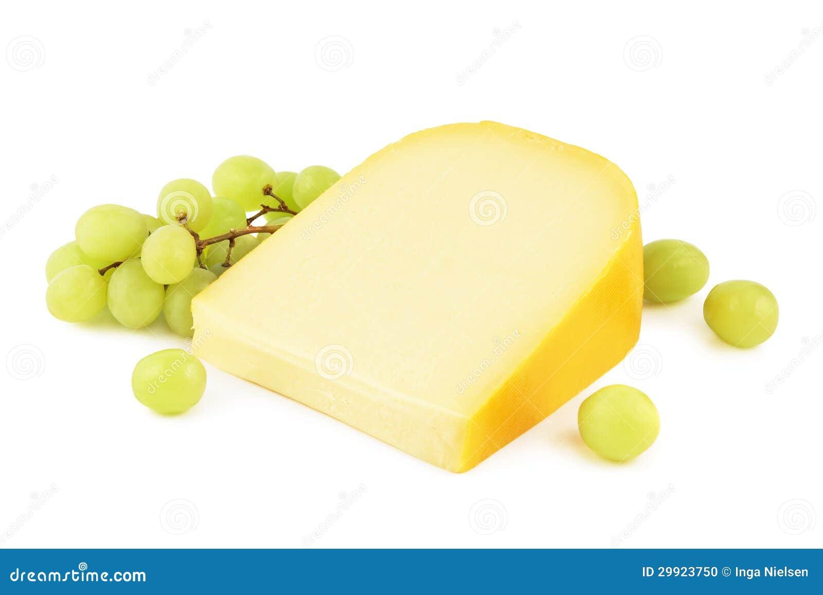 Τυρί γκούντα με τα σταφύλια