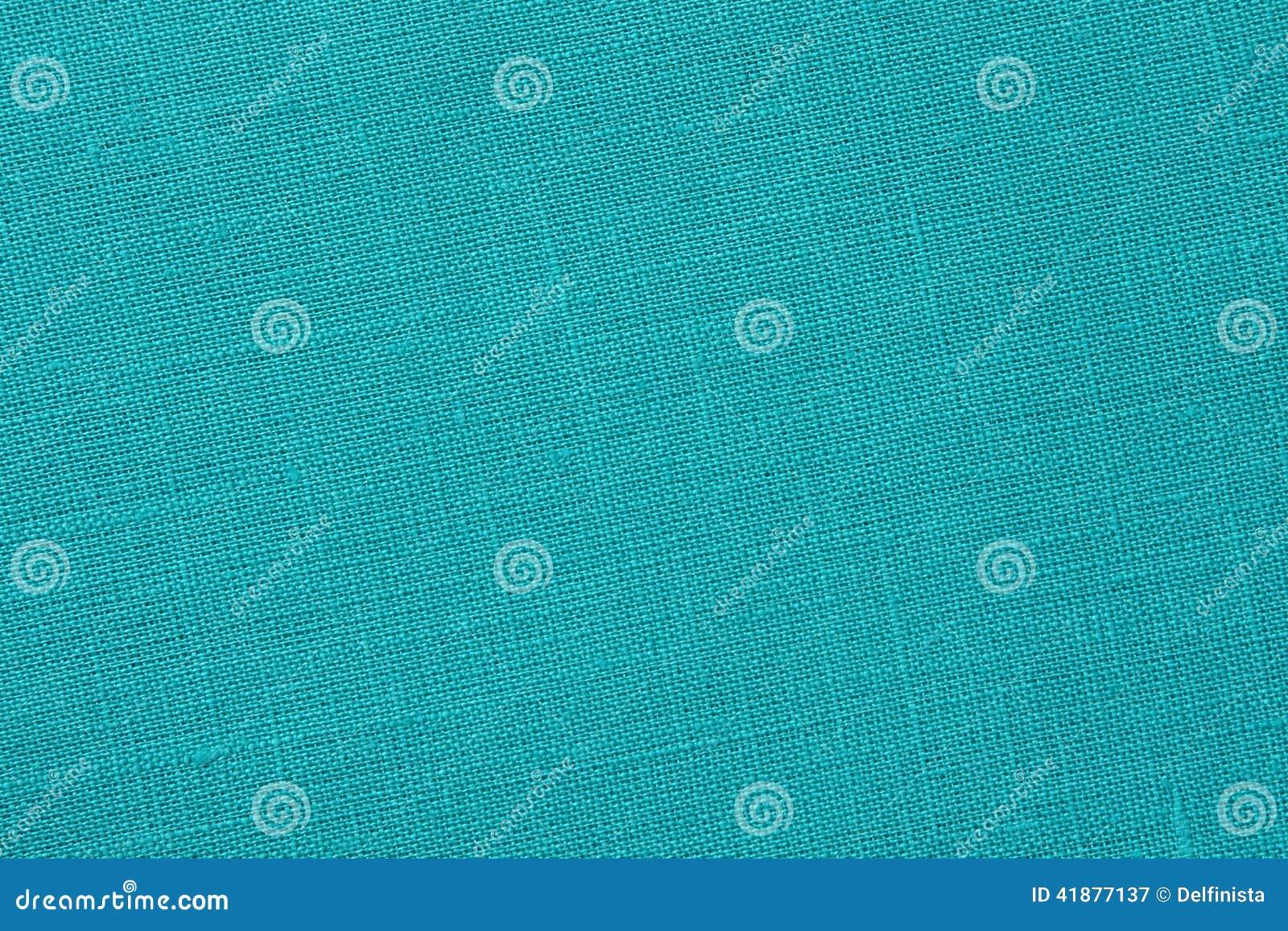 Τυρκουάζ backround - καμβάς λινού - φωτογραφία αποθεμάτων