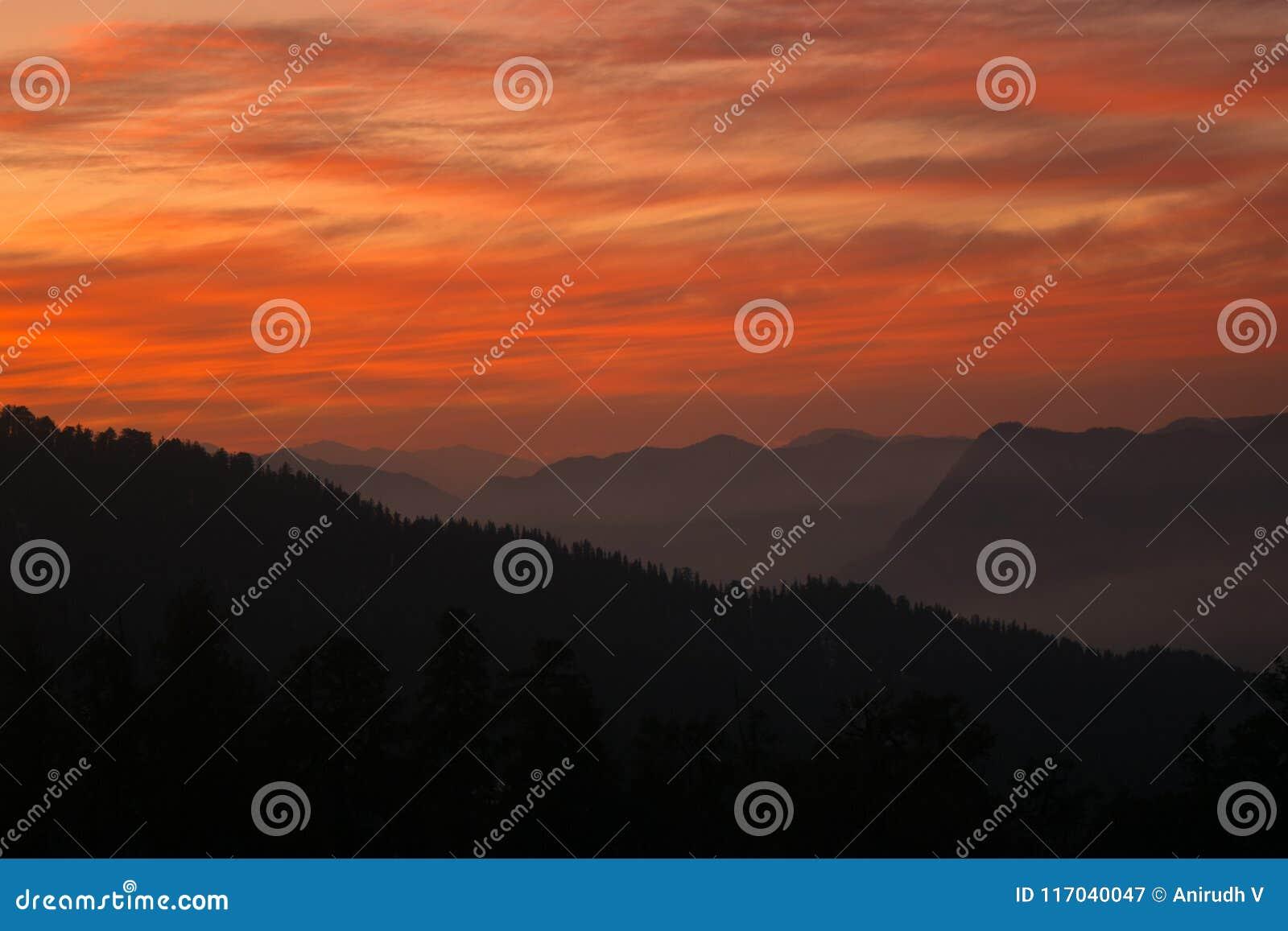 Τόνοι ουρανού ηλιοβασιλέματος!