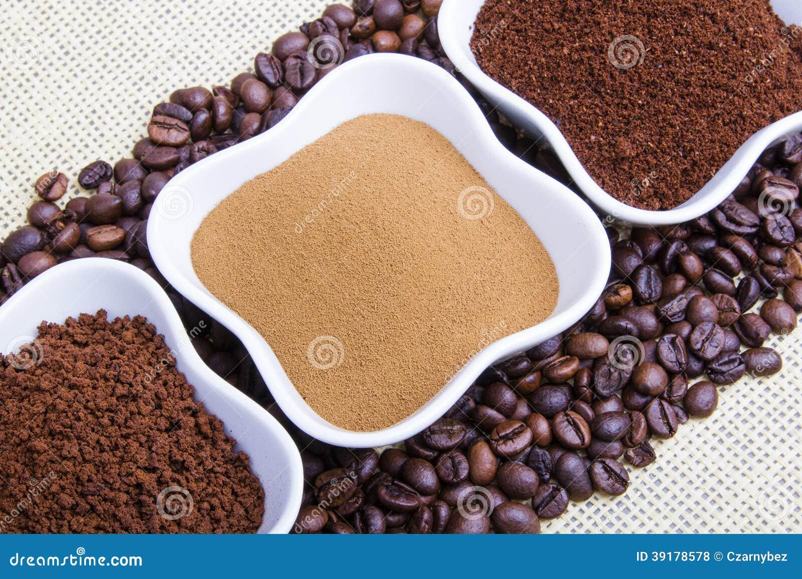 Τύποι καφέδων