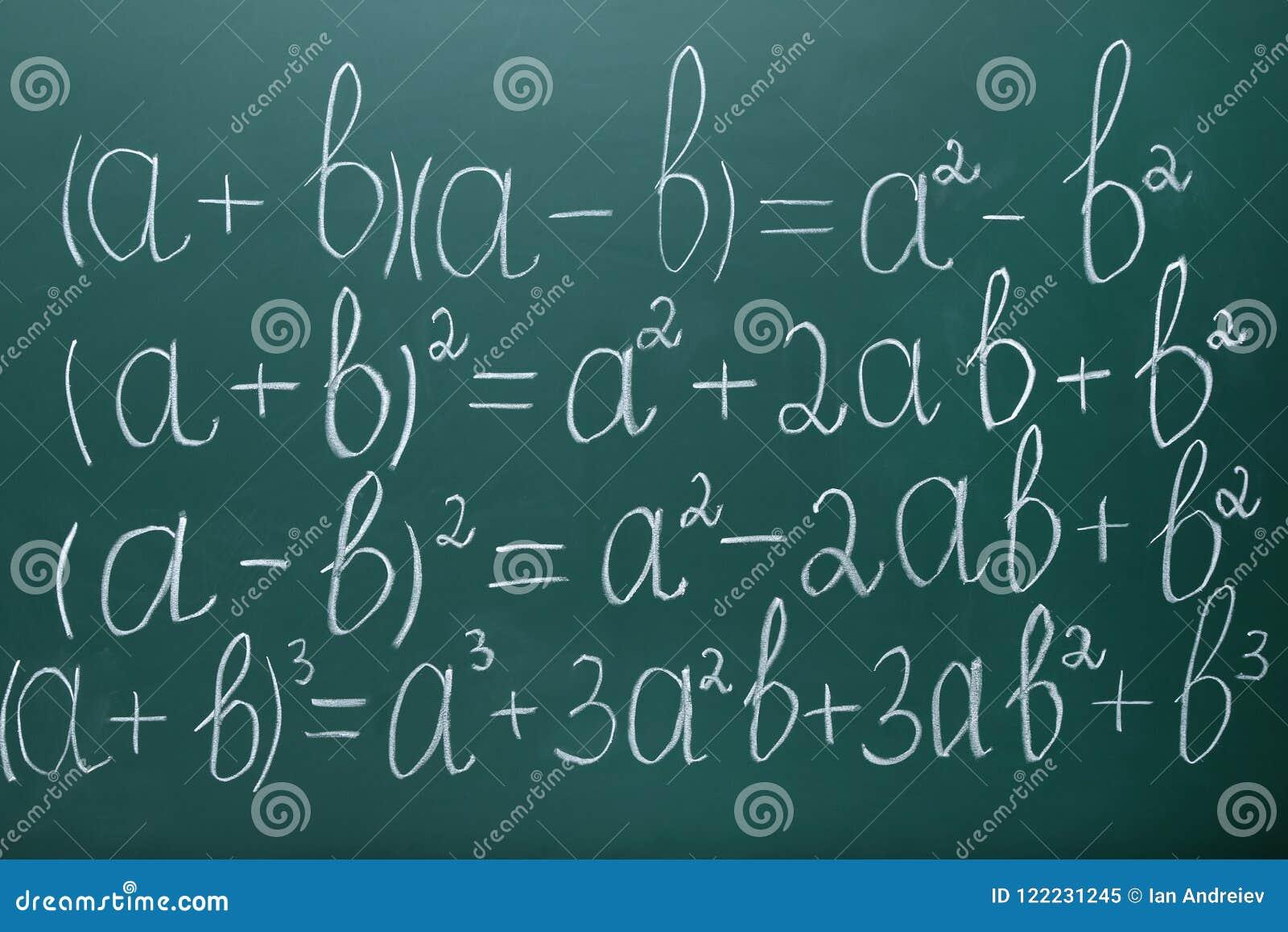 Τύποι μαθηματικών