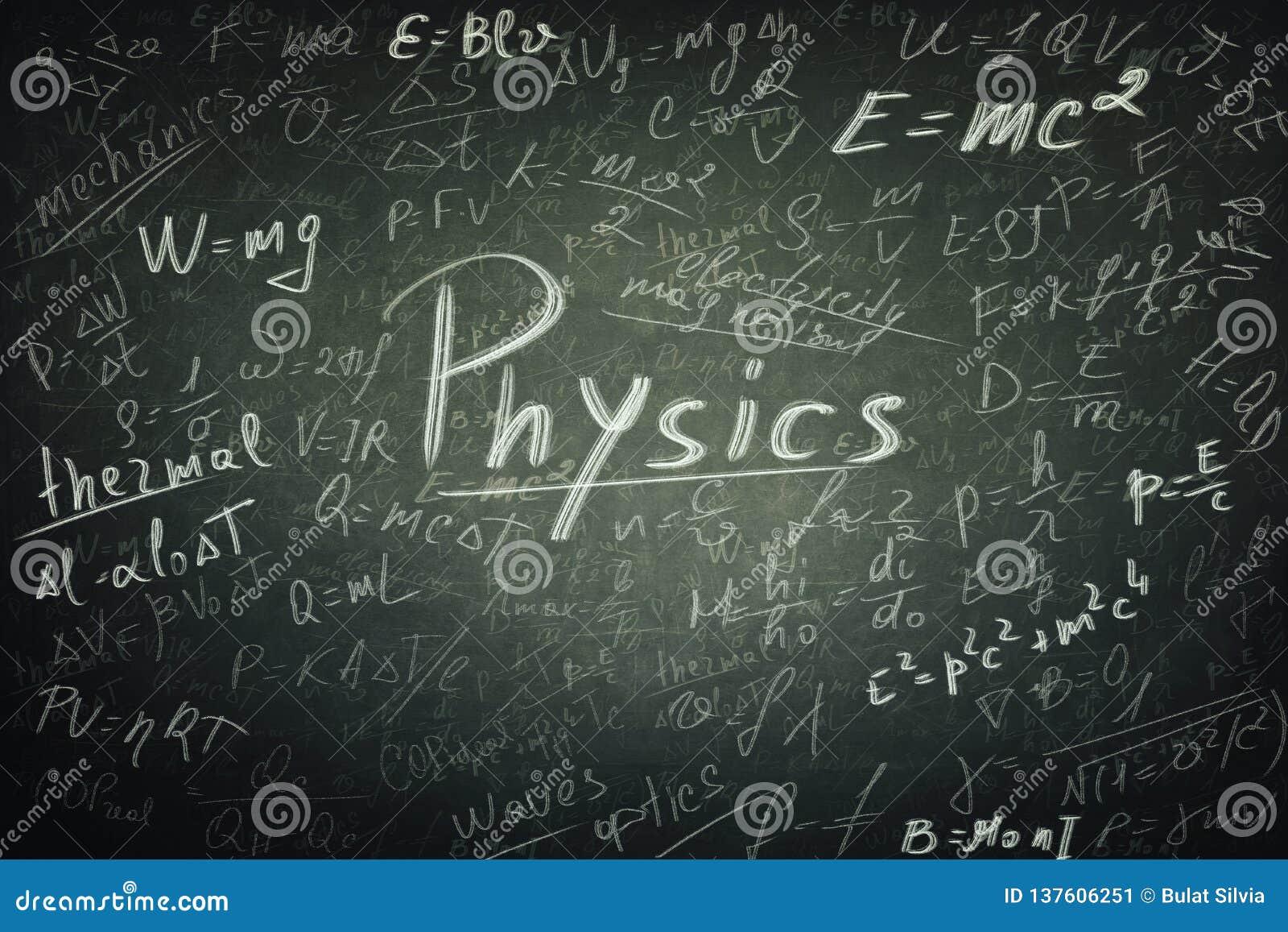 Τύποι φυσικής