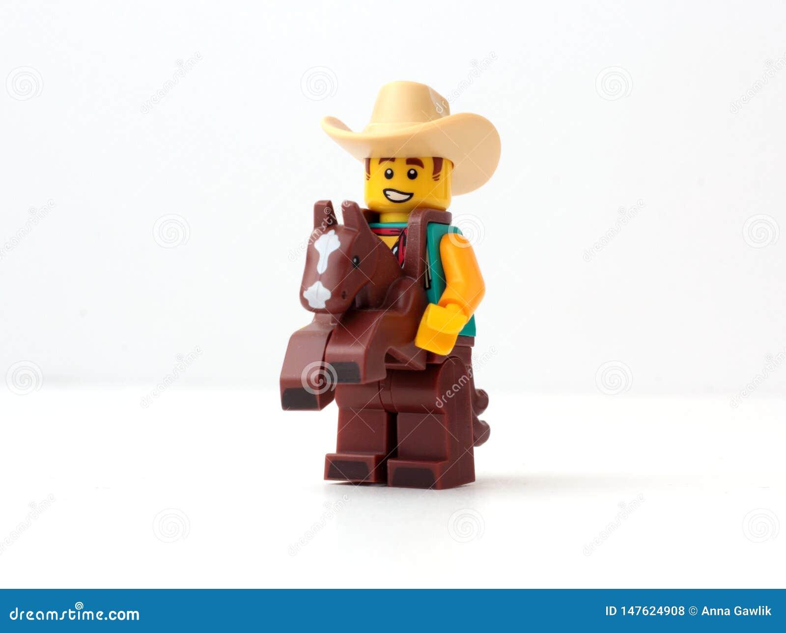 Τύπος LEGO κοστουμιών κάουμποϋ