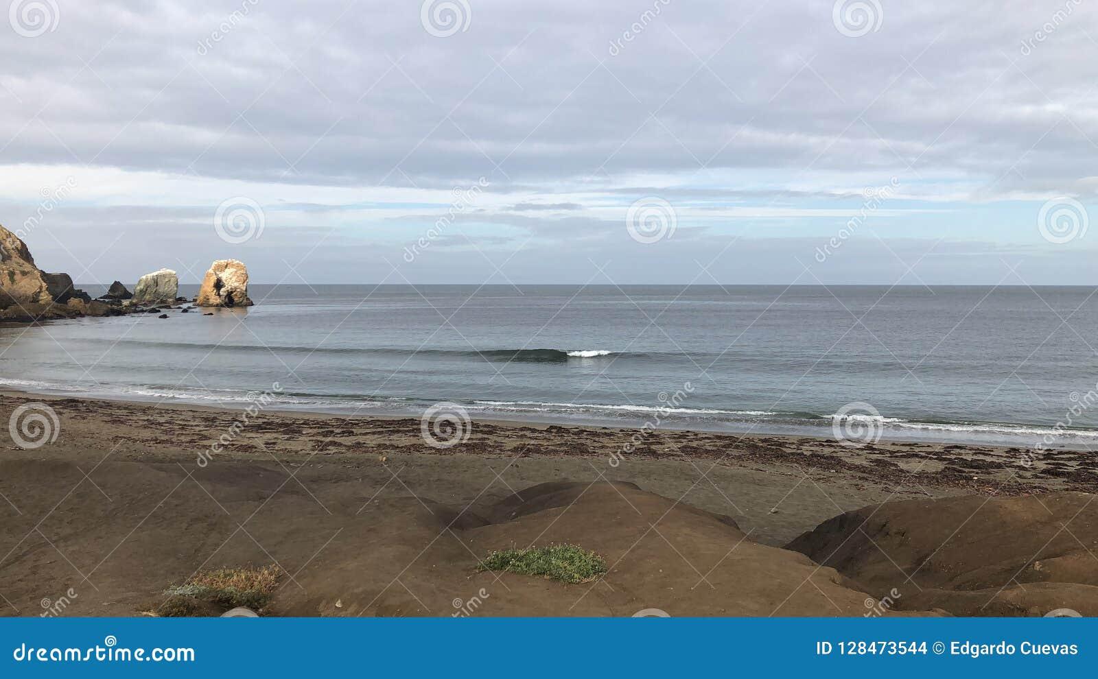 Υαλώδη πρωινά στην παραλία Rockaway