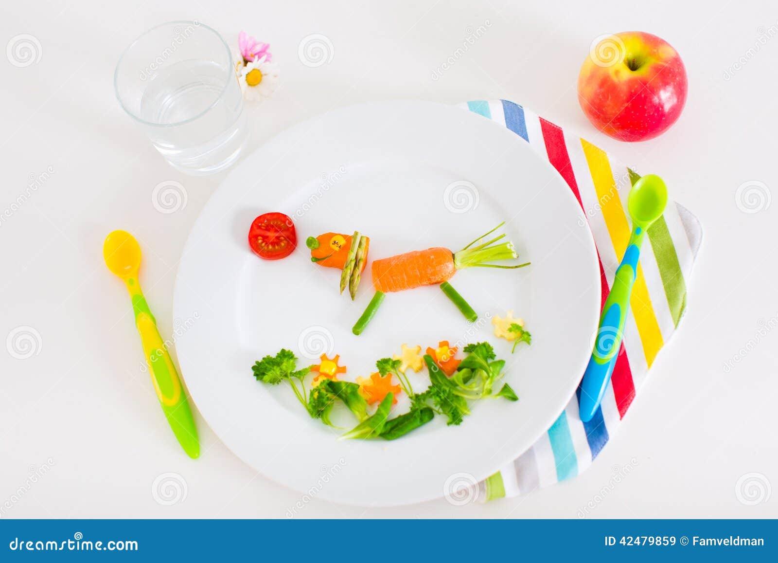 Υγιές μεσημεριανό γεύμα για τα παιδιά