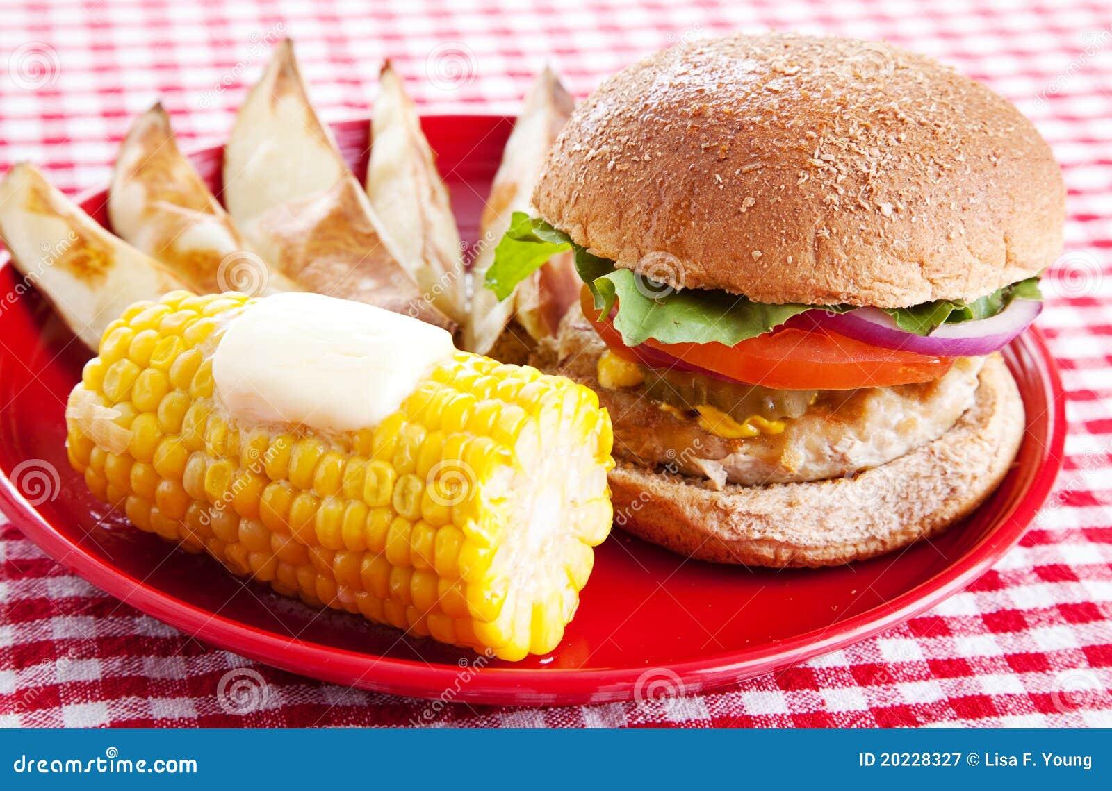 υγιές picnic γεύματος