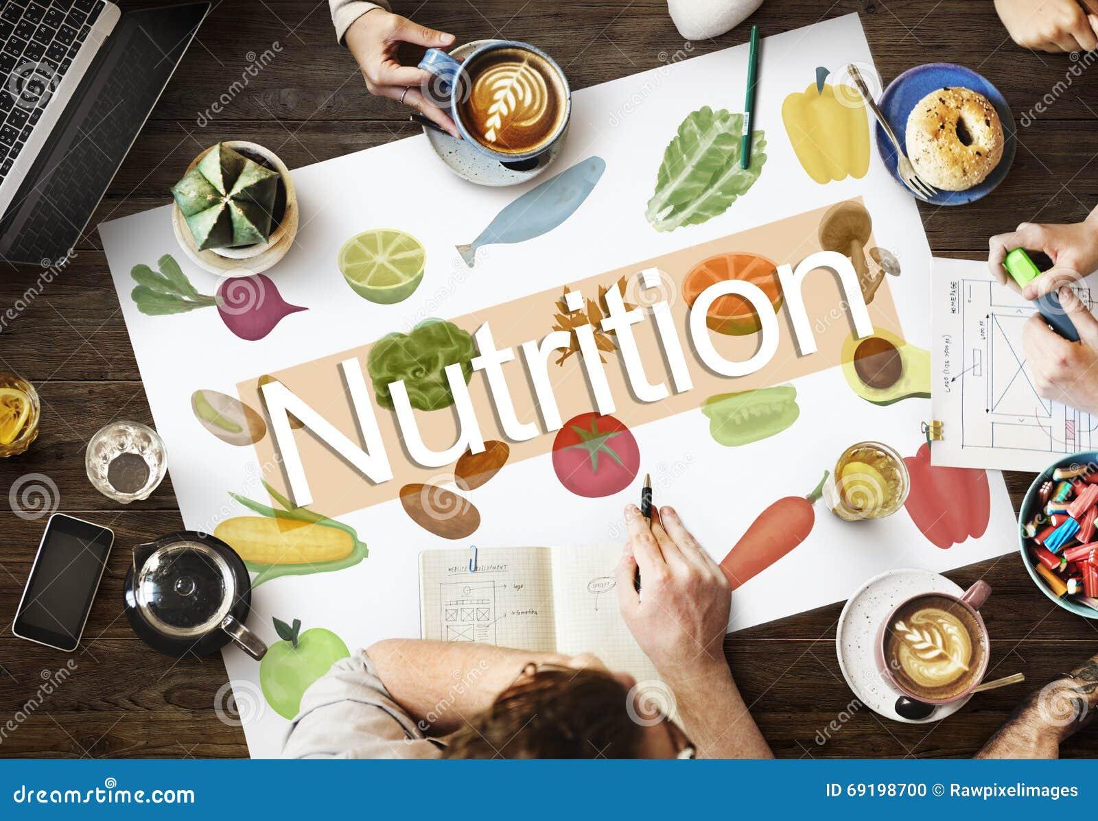 Υγιής έννοια ζωής διατροφής τροφίμων διατροφής