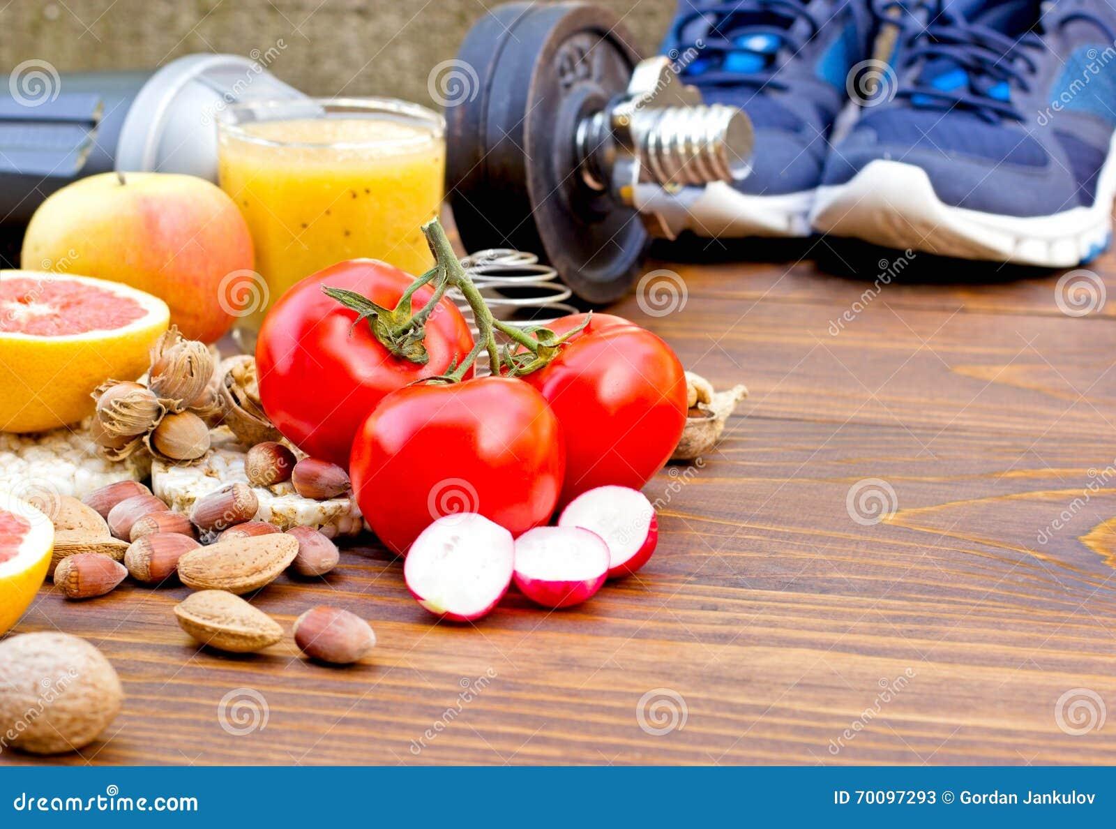 Υγιεινές διατροφή και αθλητική δραστηριότητα σε μια υγιή ζωή