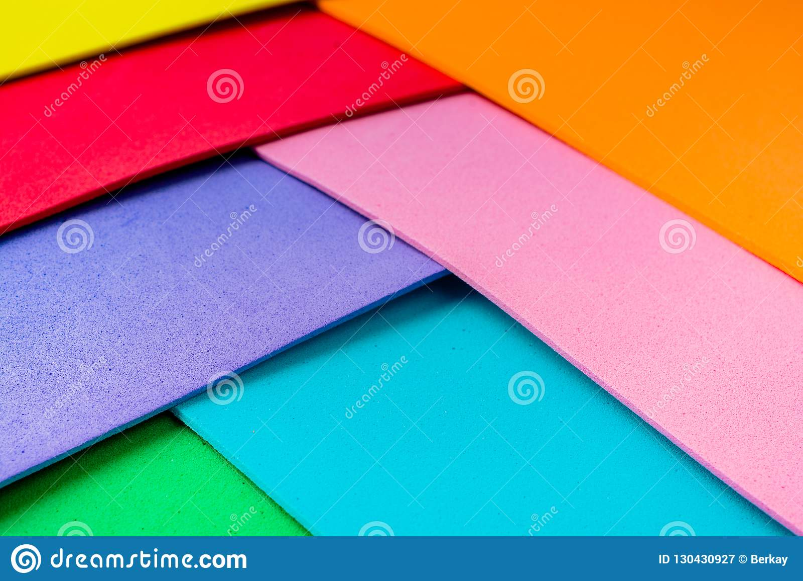 Υλικά ζωηρόχρωμα στρώματα σχεδίου