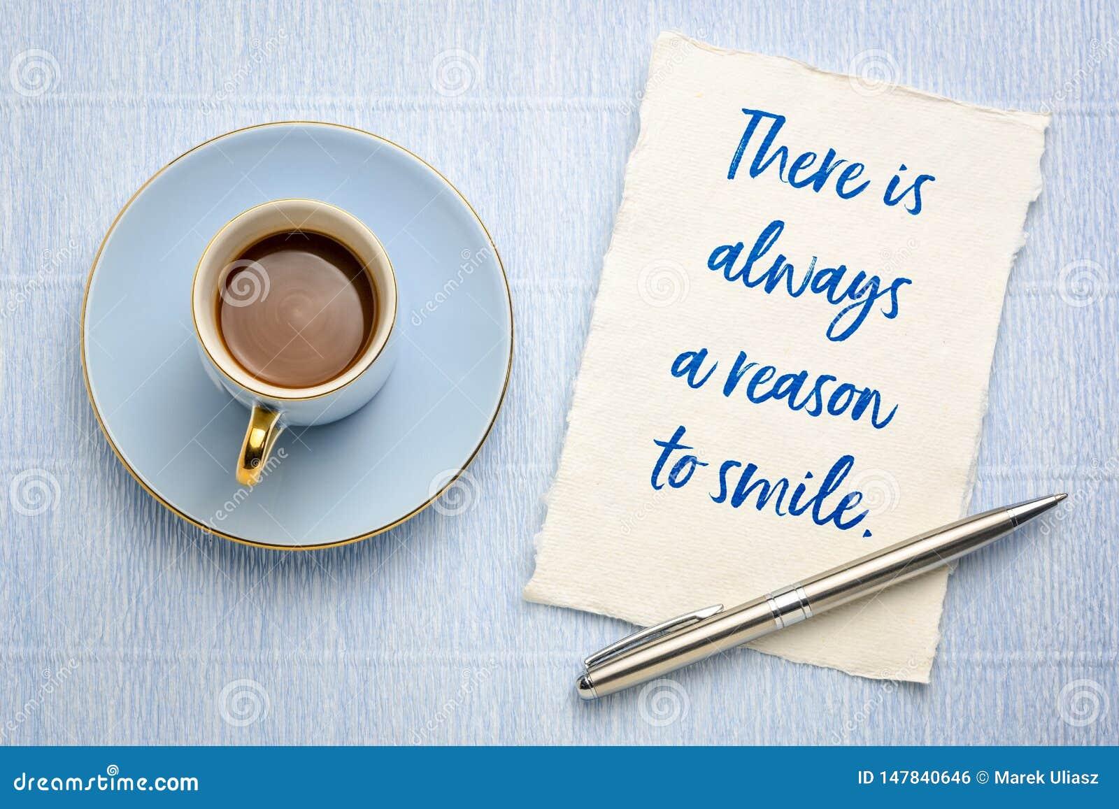 Υπάρχει πάντα ένας λόγος να χαμογελάσει