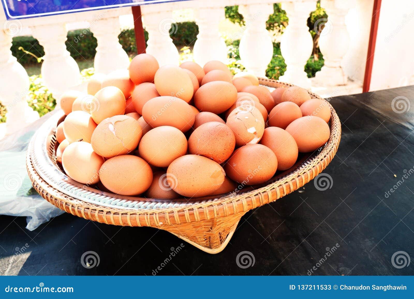 Υπάρχουν πολλά αυγά στο καλάθι