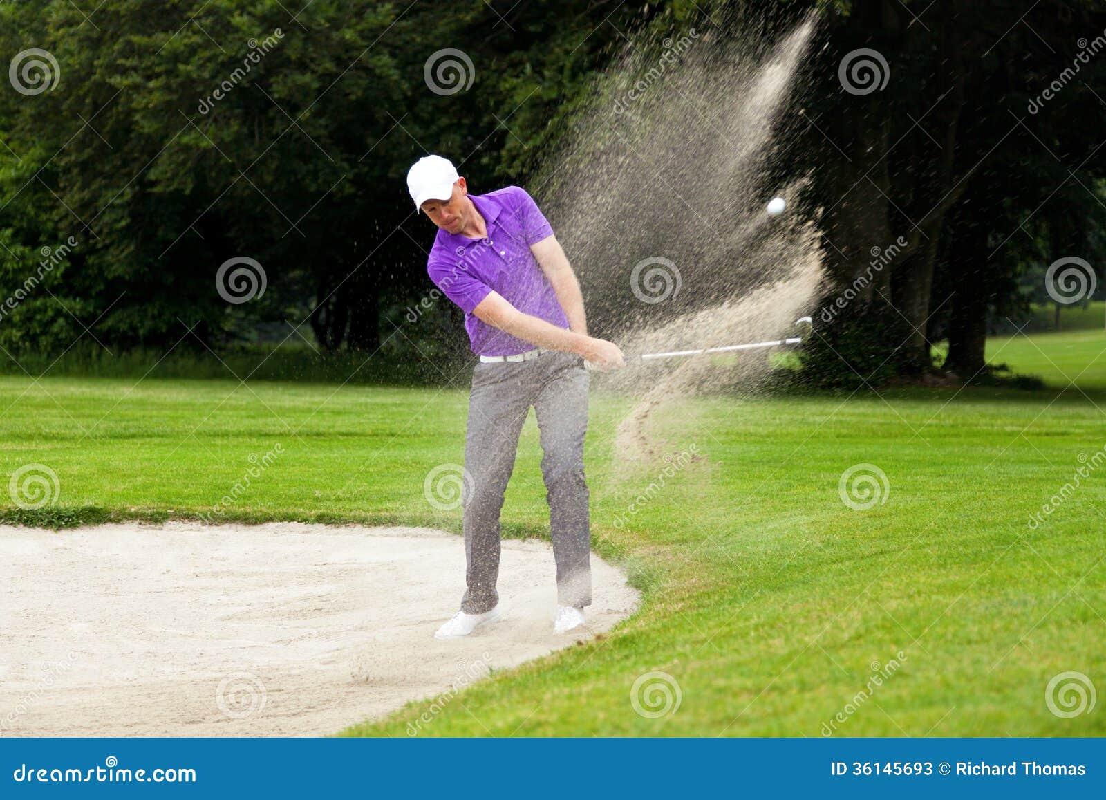 Υπέρ πυροβολισμός αποθηκών παικτών γκολφ
