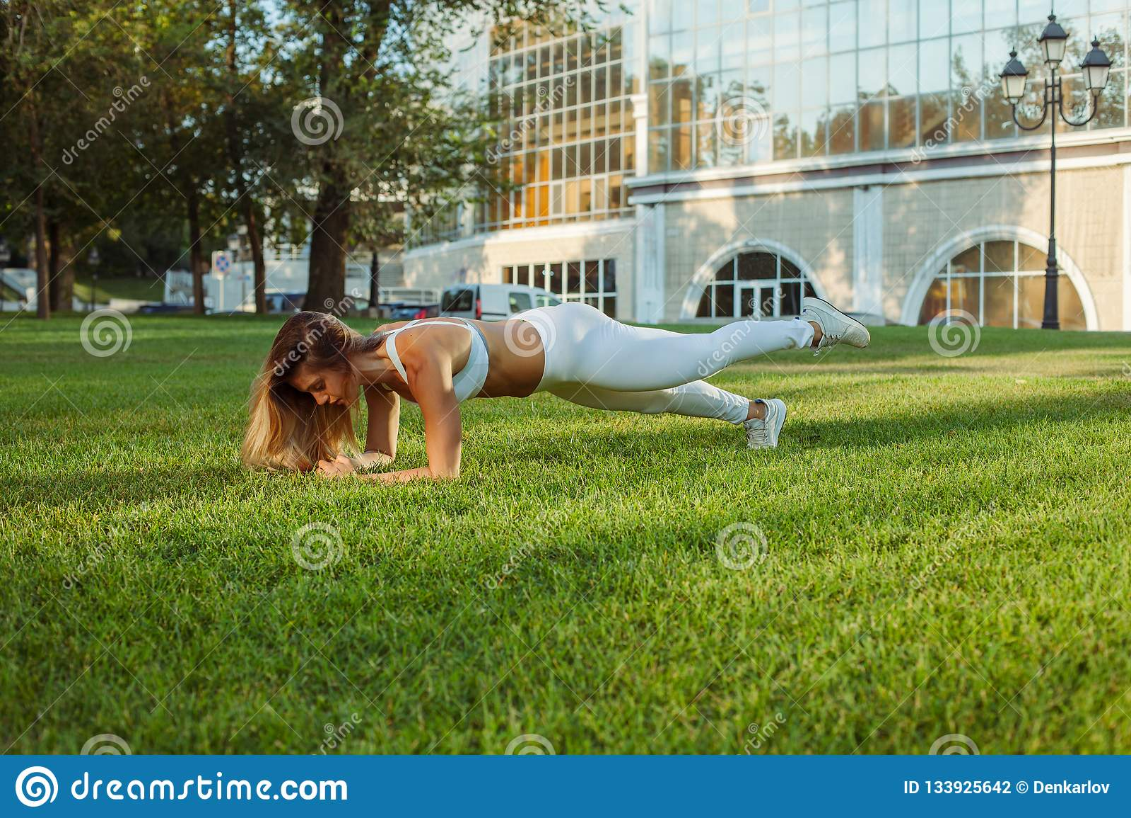 Υπαίθρια κατάρτιση και workout