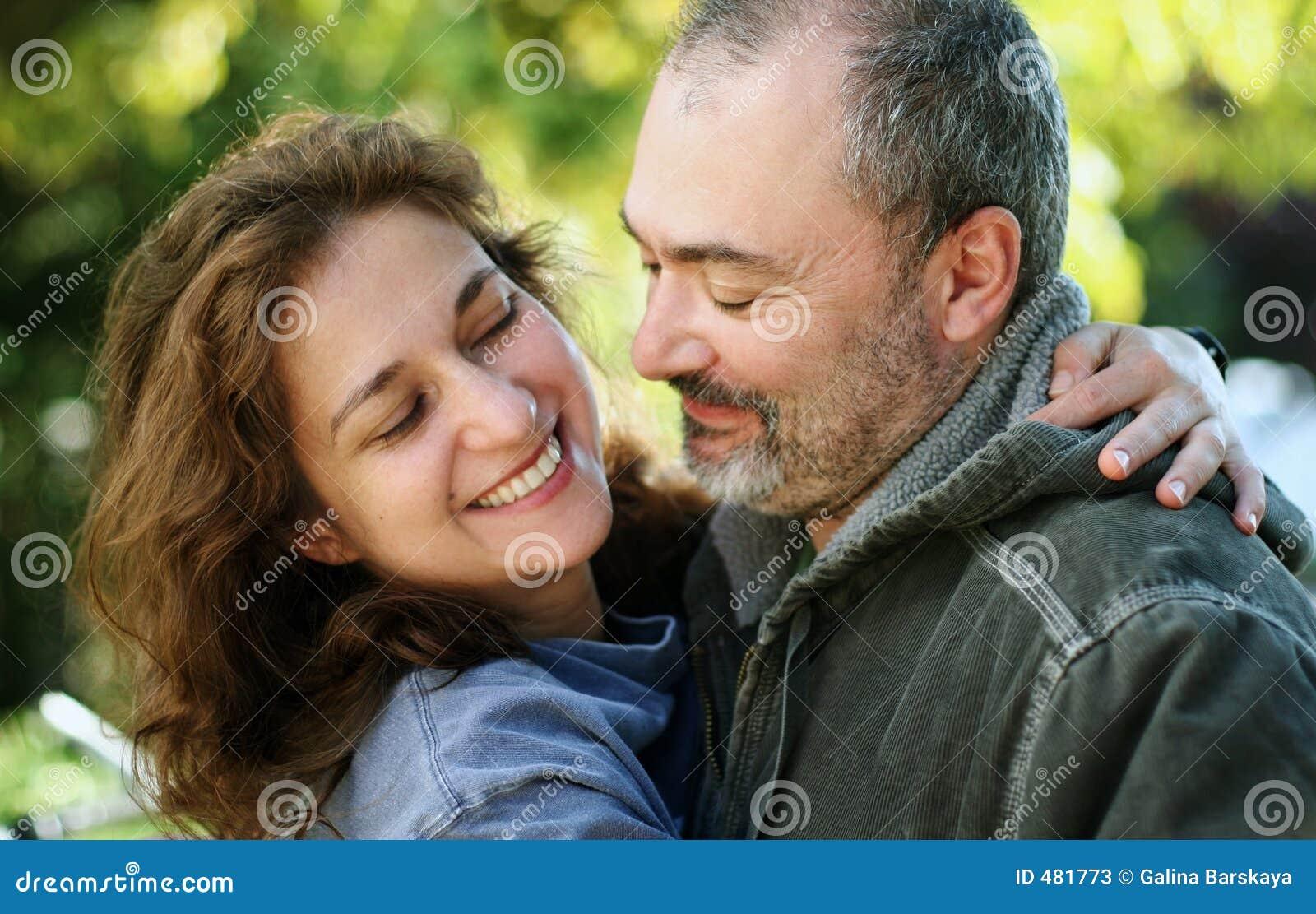 υπαίθριος ρομαντικός ζευγών