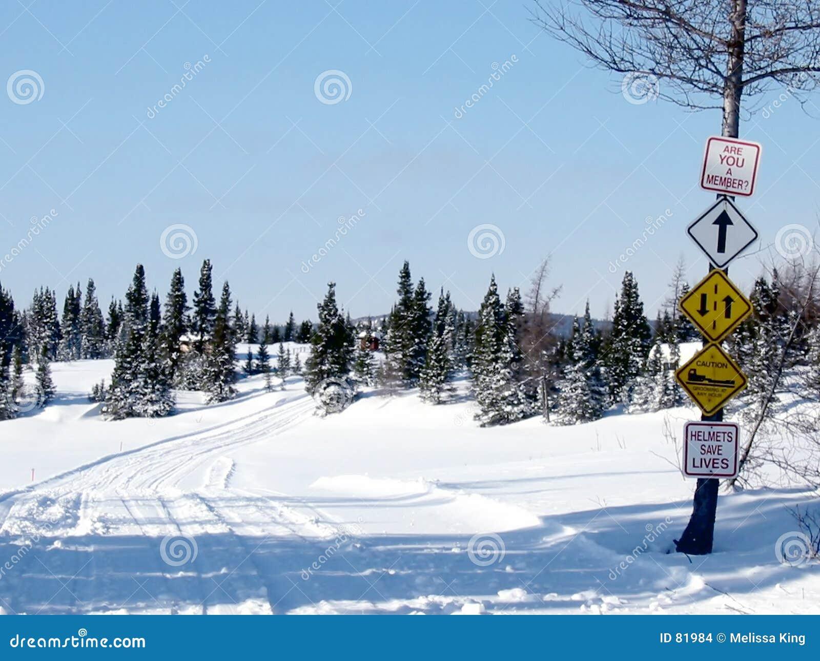 υπαίθριος χειμώνας ιχνών