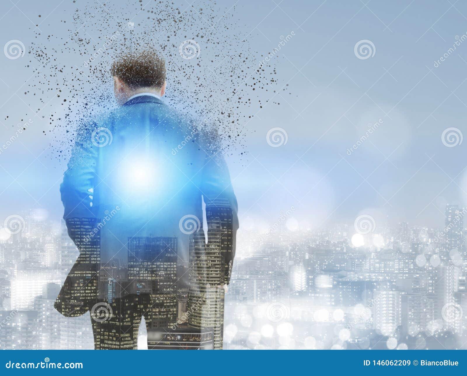 Υπερφυσικός επιχειρηματίας στη σύγχρονη πόλη
