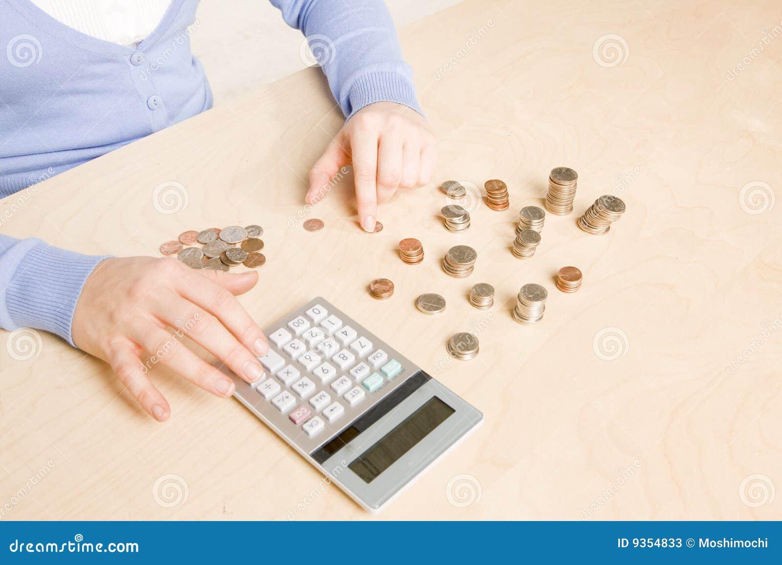 υπολογισμός νομισμάτων